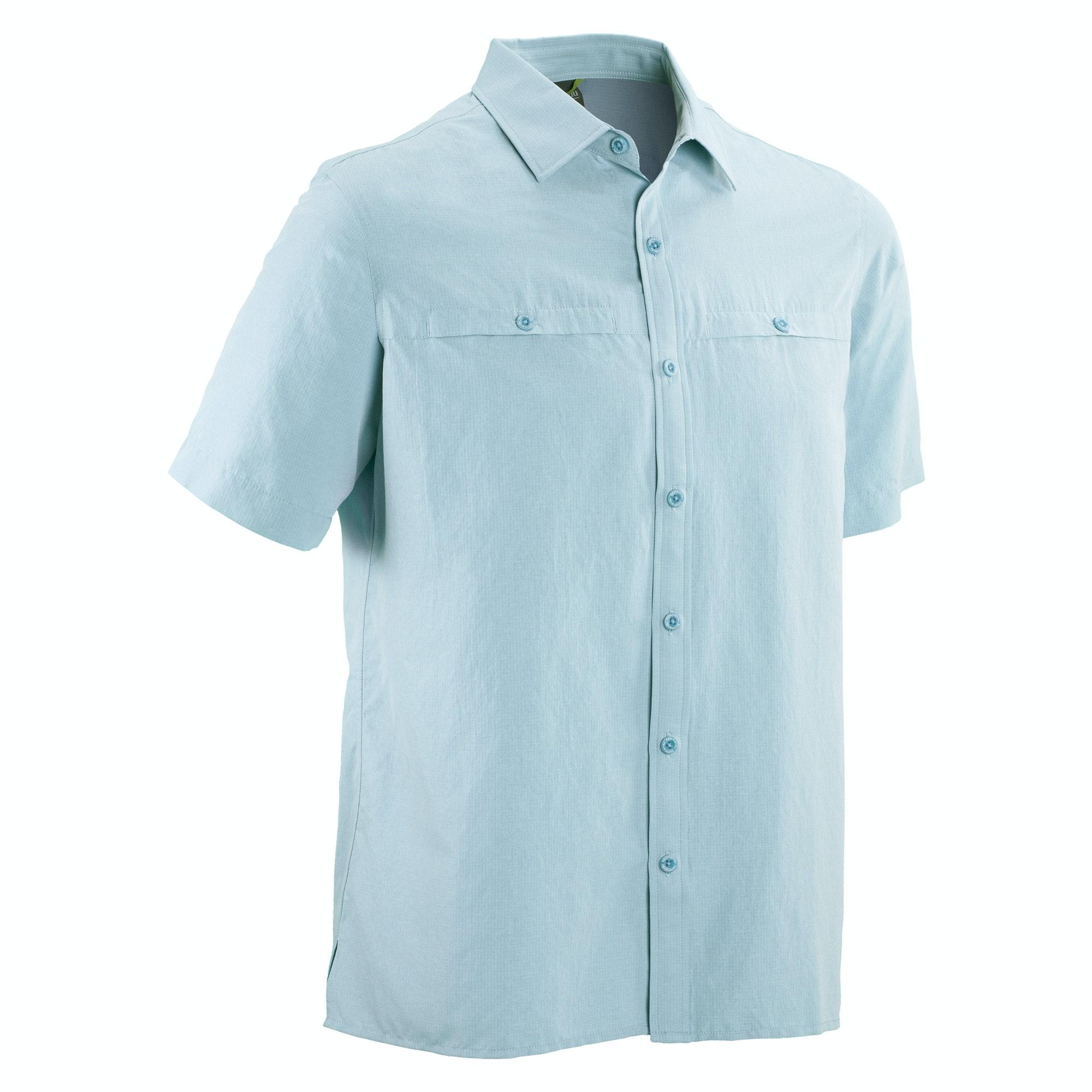 kathmandu valetta mens quick dry lightweight short sleeve