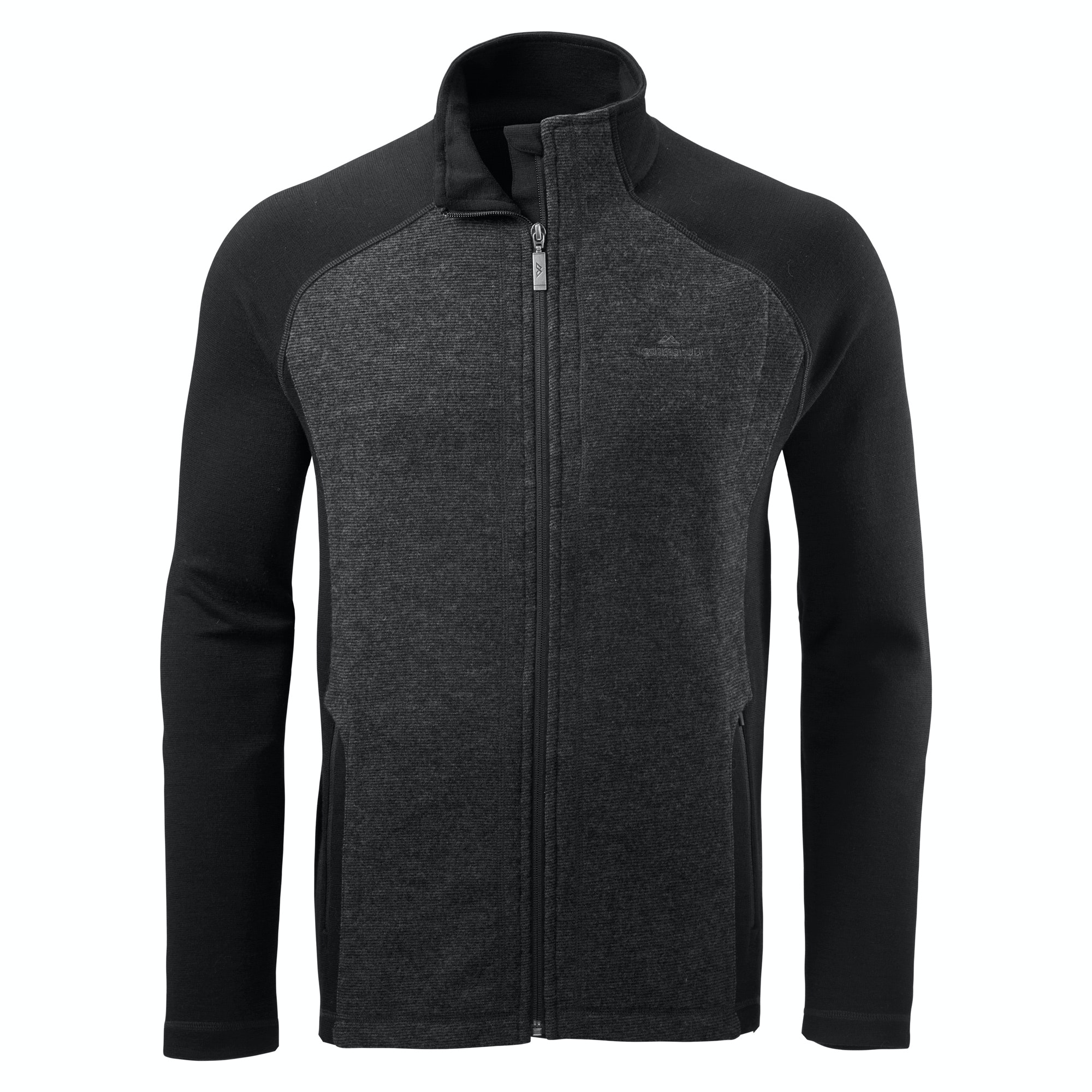 Barrier men 39 s merino jacket v2 charcoal for Merino wool shirts for travel