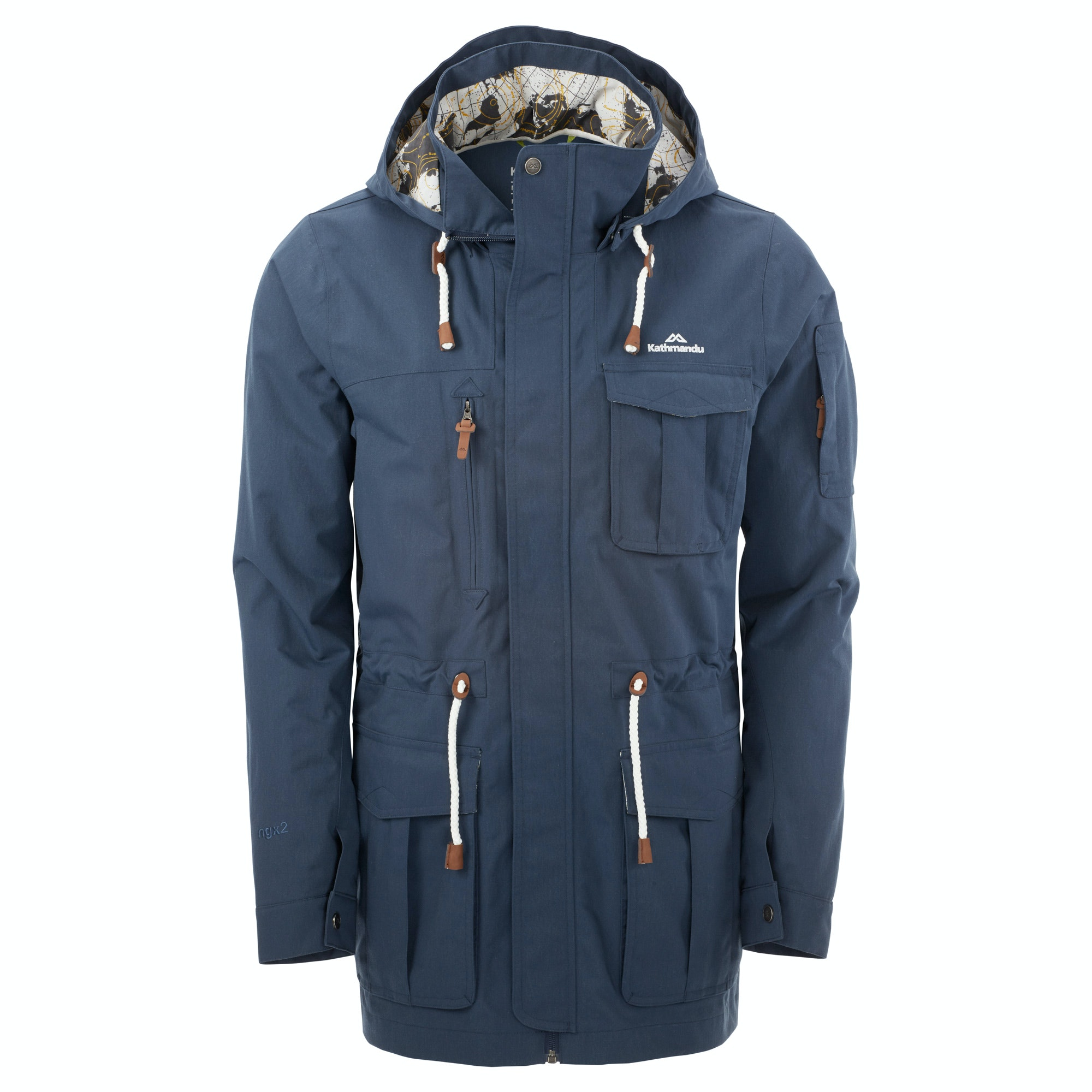 Kathmandu Expedite Mens Hooded Parka Wind Water Proof