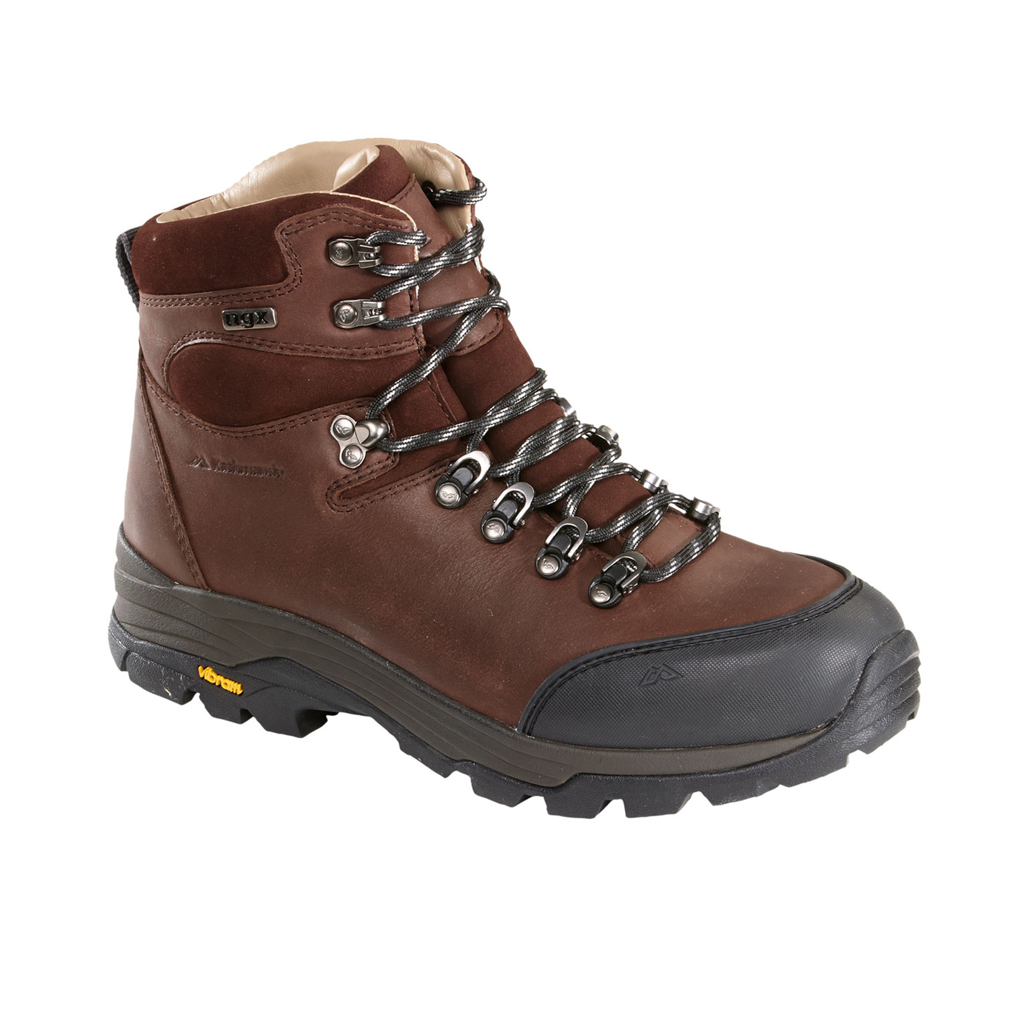 kathmandu tiber mens ngx waterproof leather hiking walking