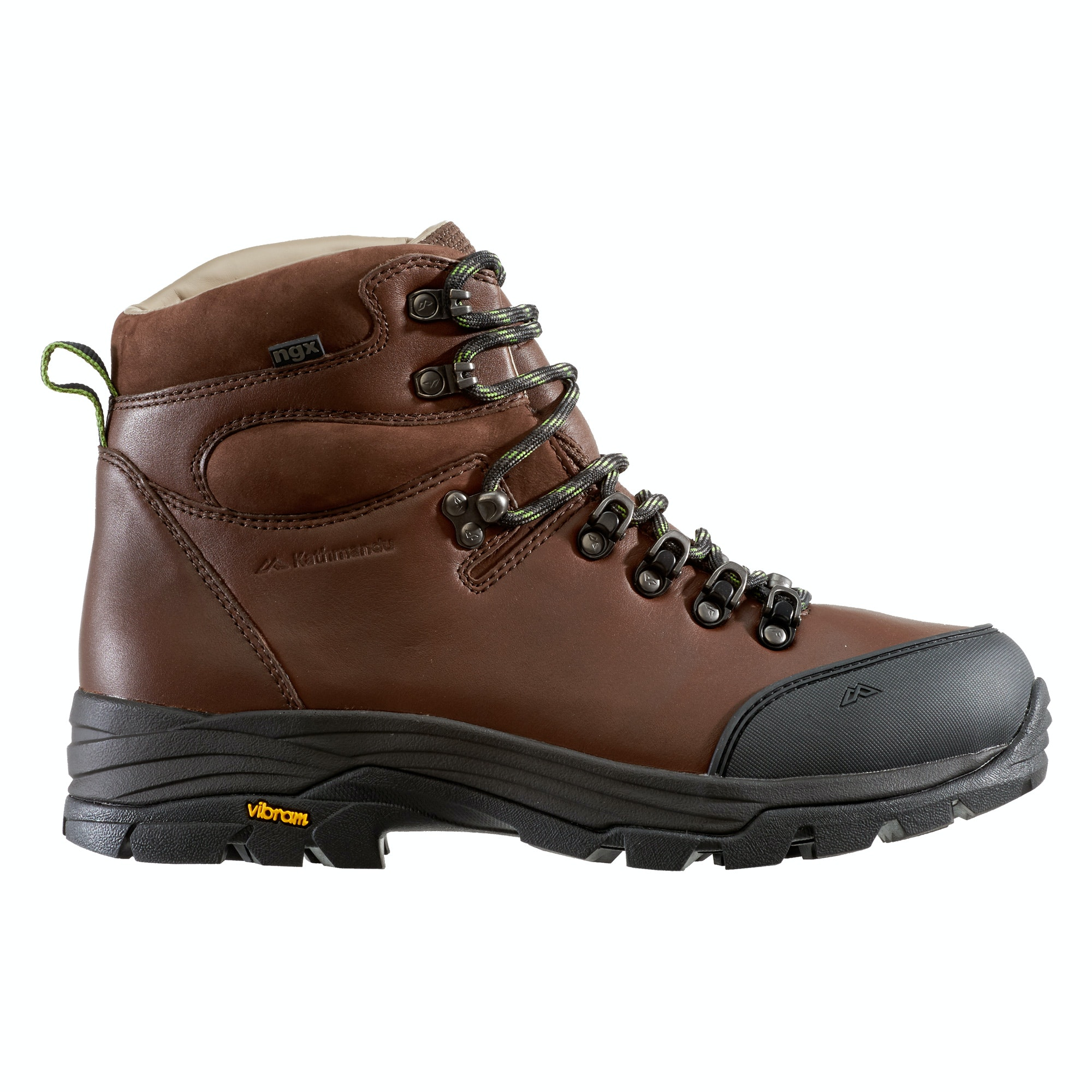 tiber s ngx leather hiking boots chestnut
