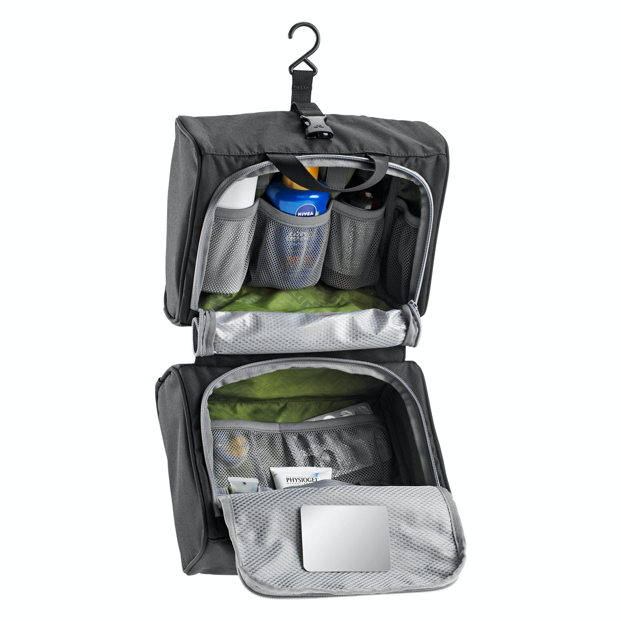 kathmandu kit triple hanging toiletry bag travel make up. Black Bedroom Furniture Sets. Home Design Ideas