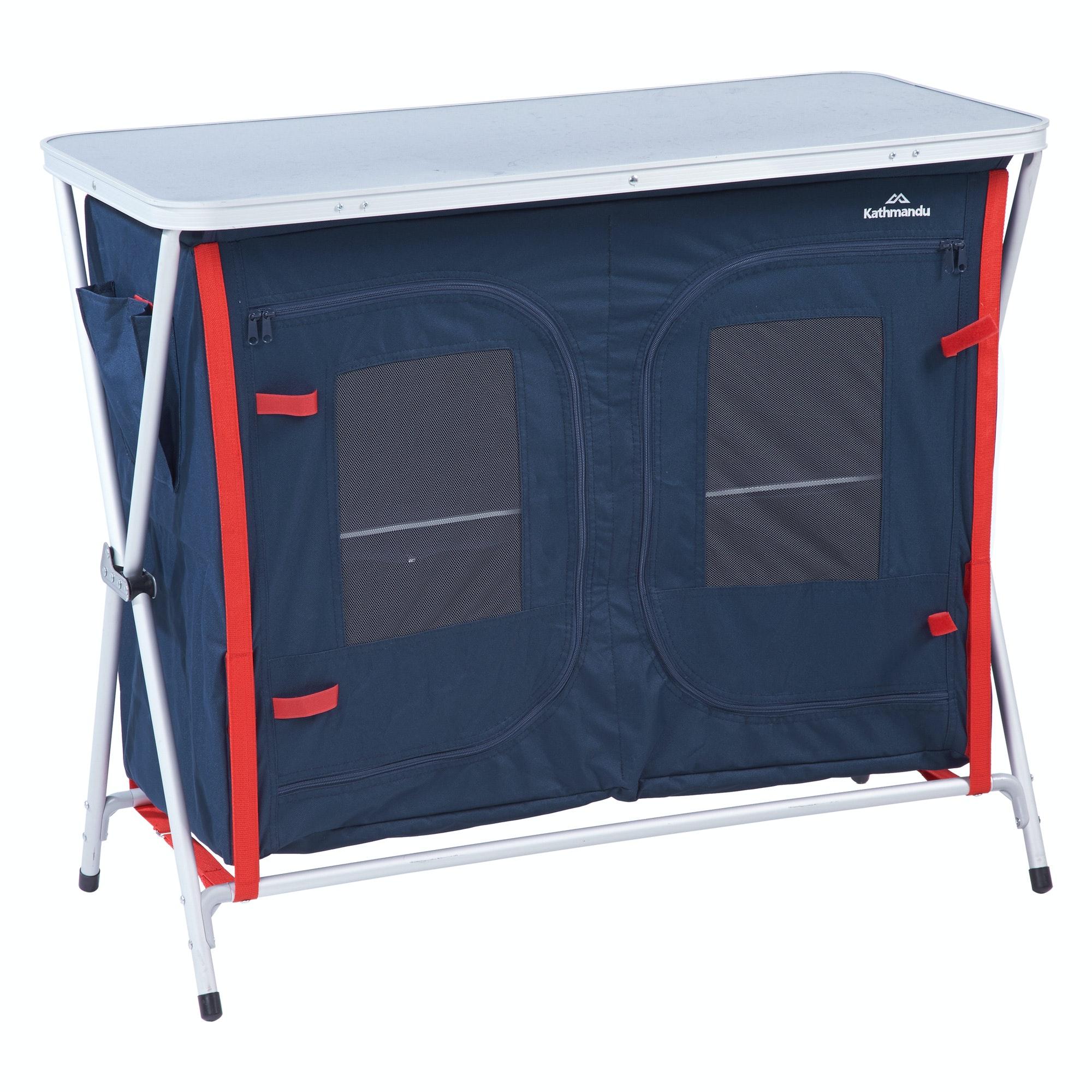 Storage Portable Furniture : Kathmandu retreat double two shelf cupboard portable