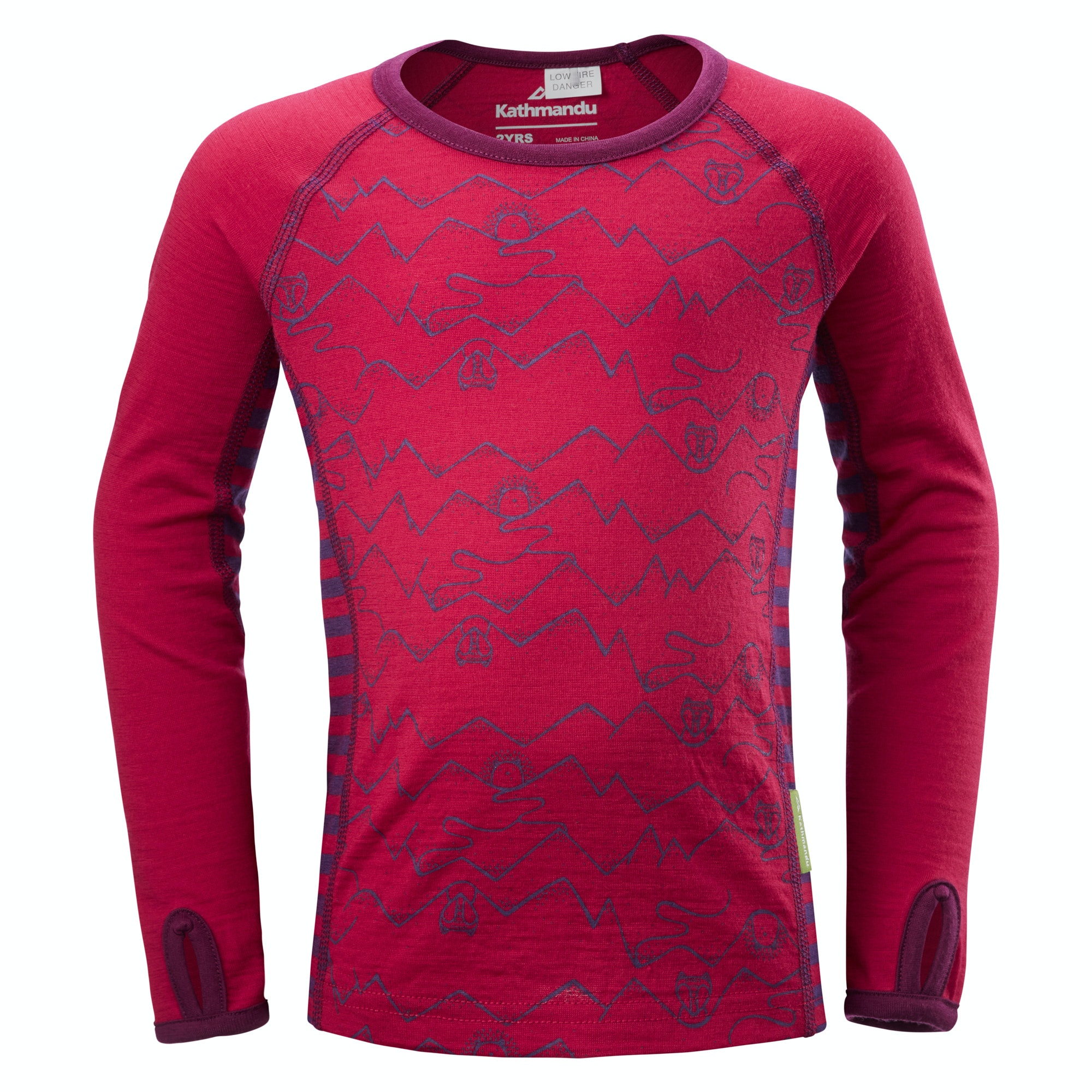 View more of the Curlew Kids' Long Sleeve Merino Top