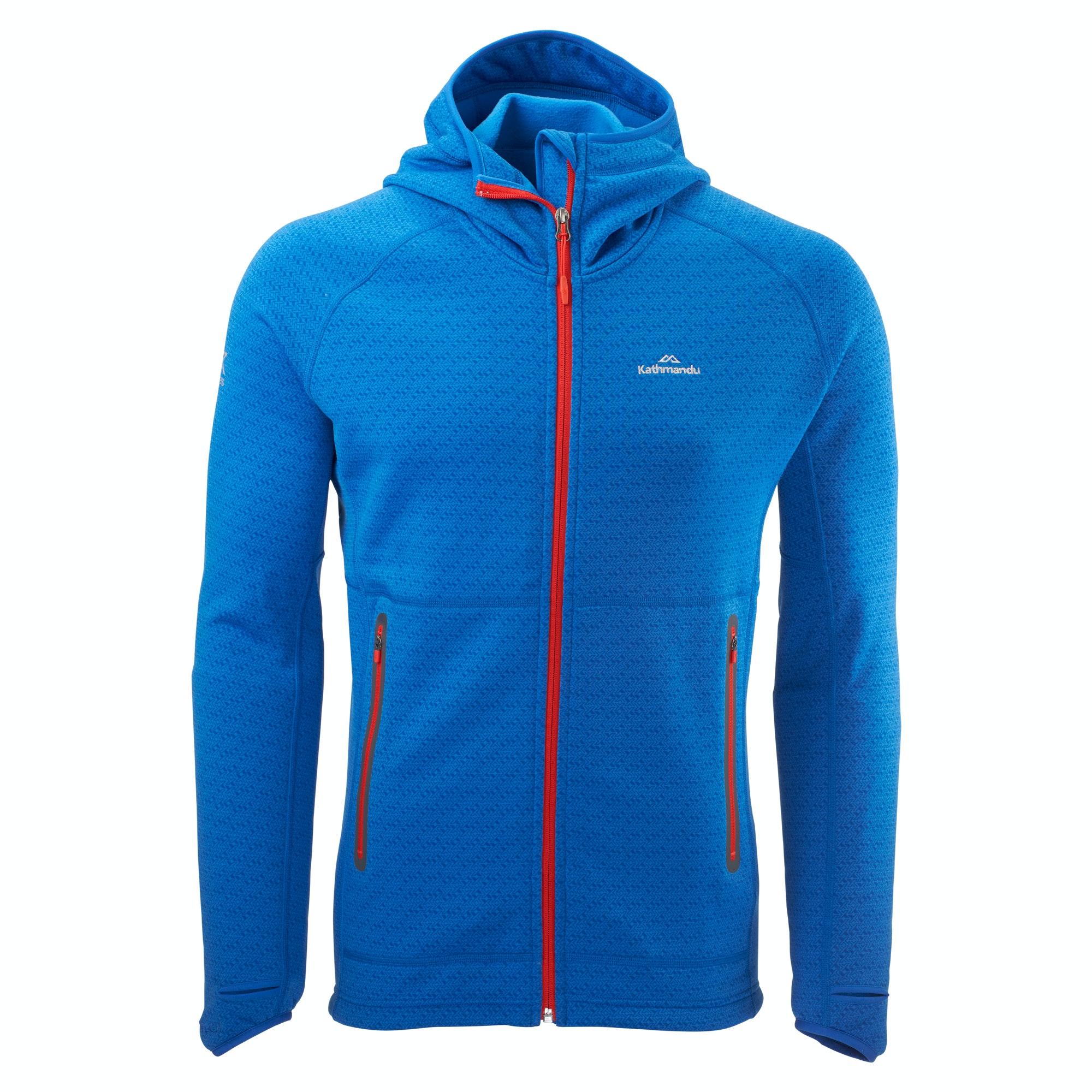 Surna Hooded Jacket Men - Mid Blue
