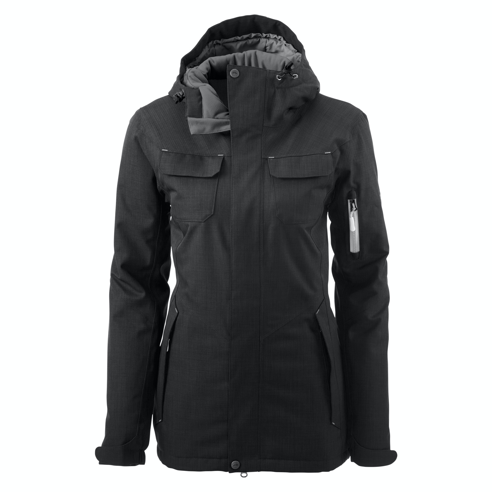 Stromsdal Women's 2 Layer Waterproof Snow Sport Jacket v3 - Black