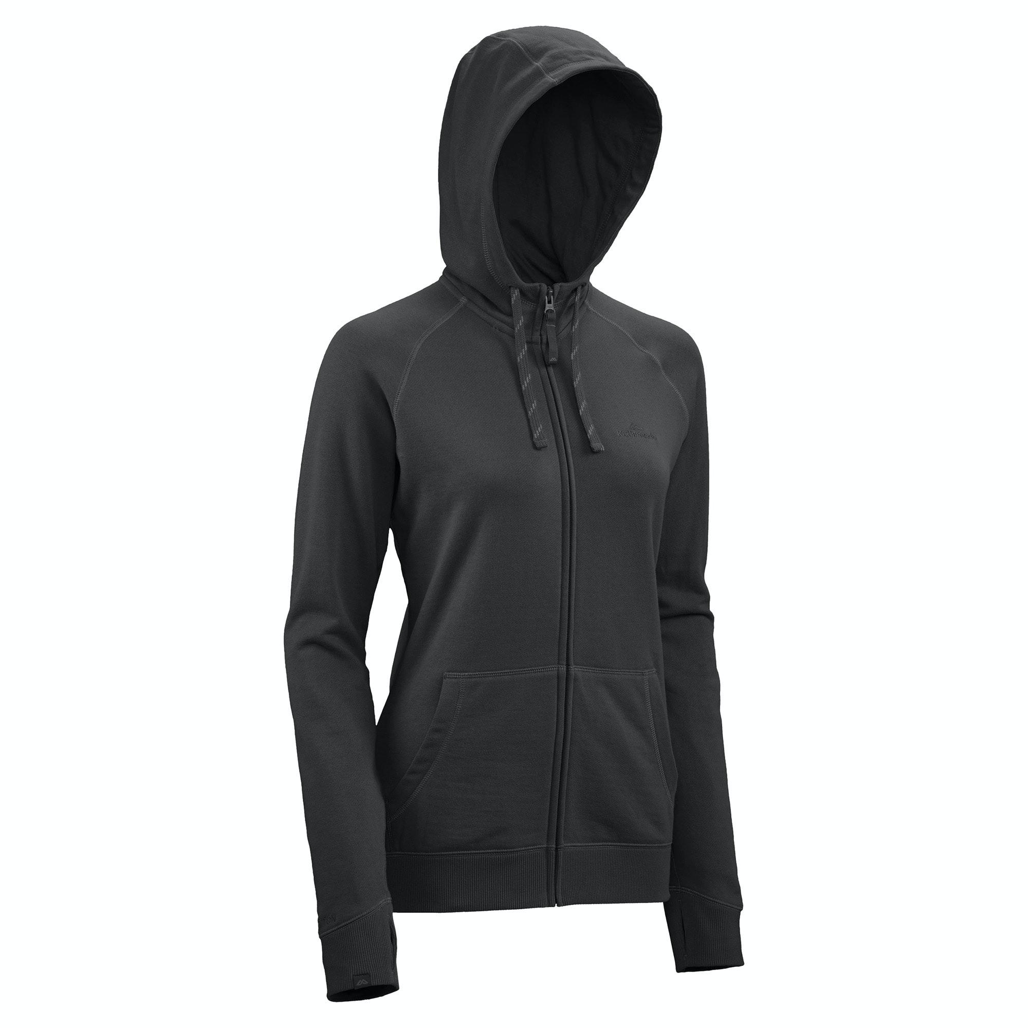 DriCotton Women&39s Hooded Lightweight Fleece Jacket - Lake Blue