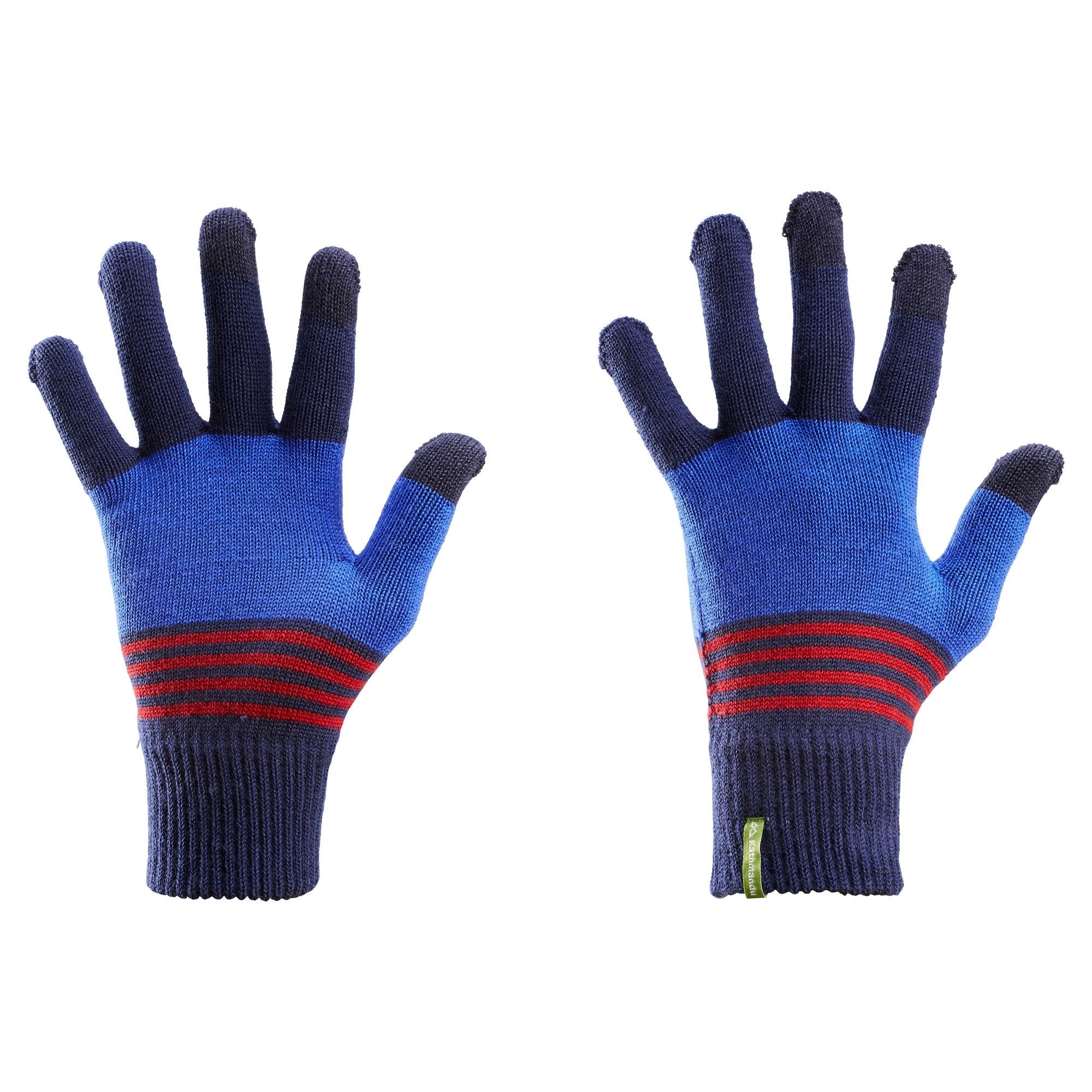 266c6da0977 Kathmandu Men s Women s Close Fitting Warm Winter Merino Wool Gloves ...