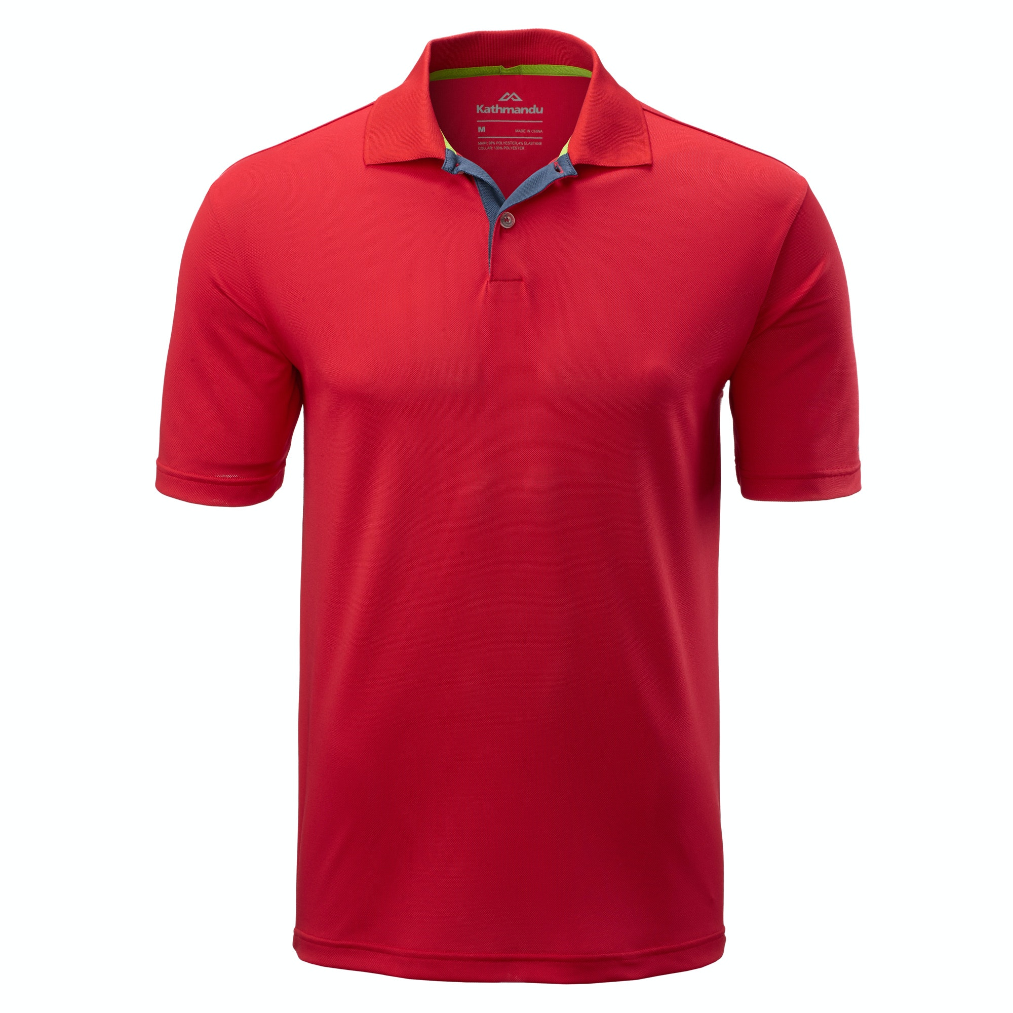 Vanua men 39 s short sleeve polo shirt v2 red for Mens polo shirts online