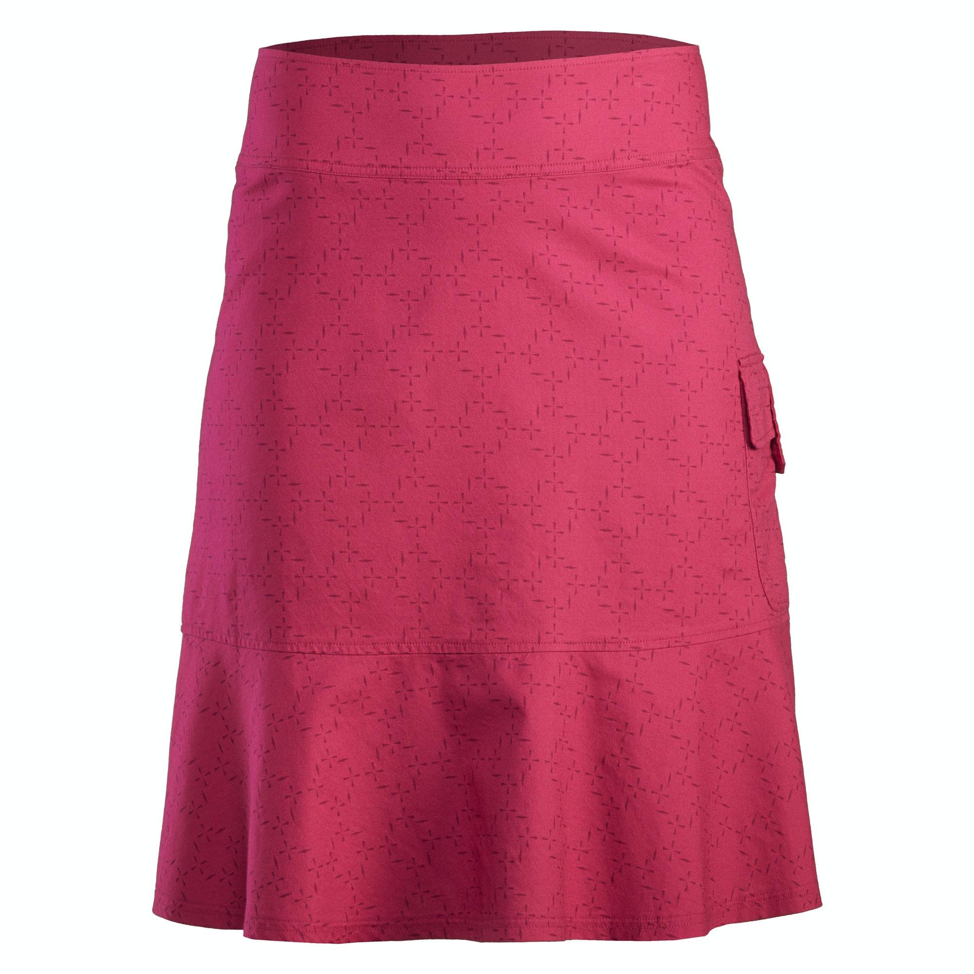 Melfi Women's Travel Skirt - Driftwood Print