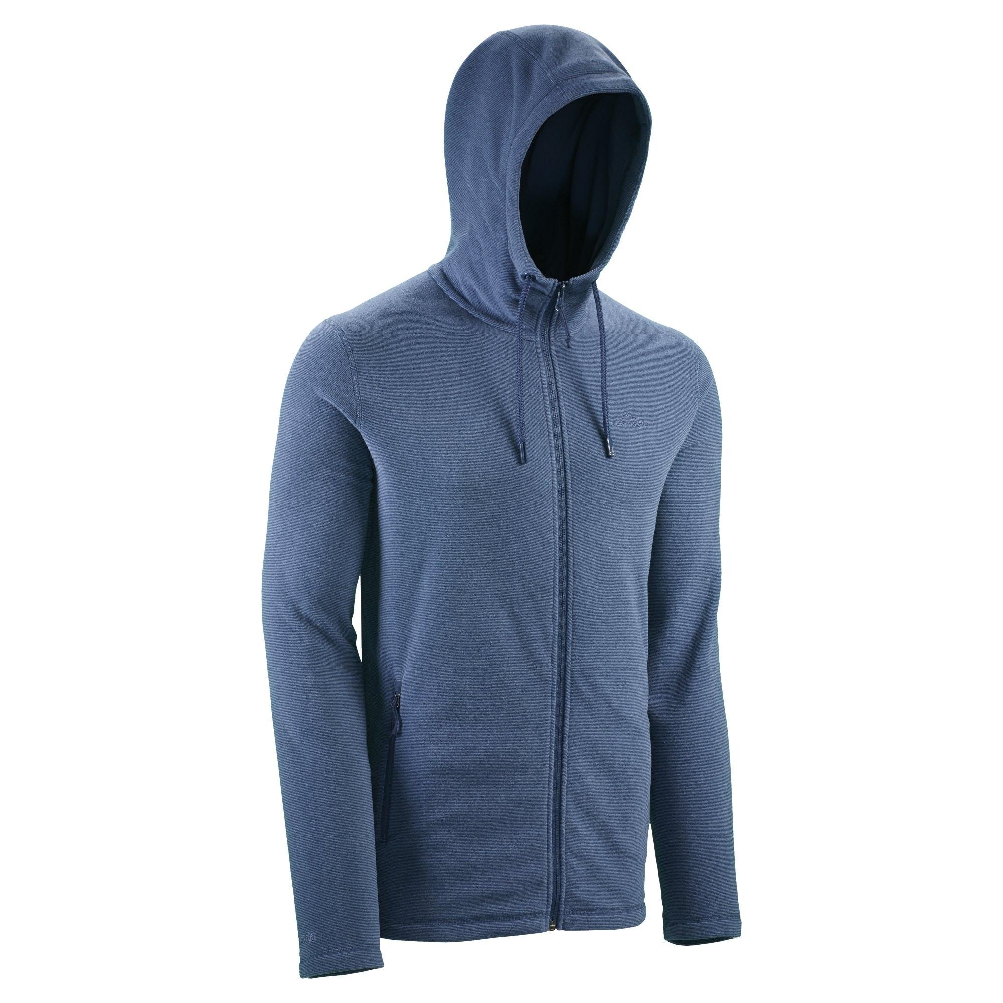 Kathmandu Tauro Mens Regular Fit Full Zip Hoodie Fleece Hooded ...