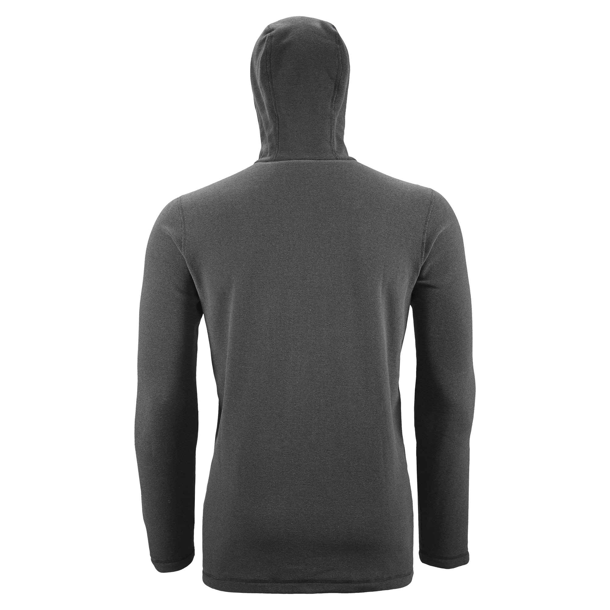 Tauro Men's Hooded Lightweight Fleece Jacket - Dark Blue