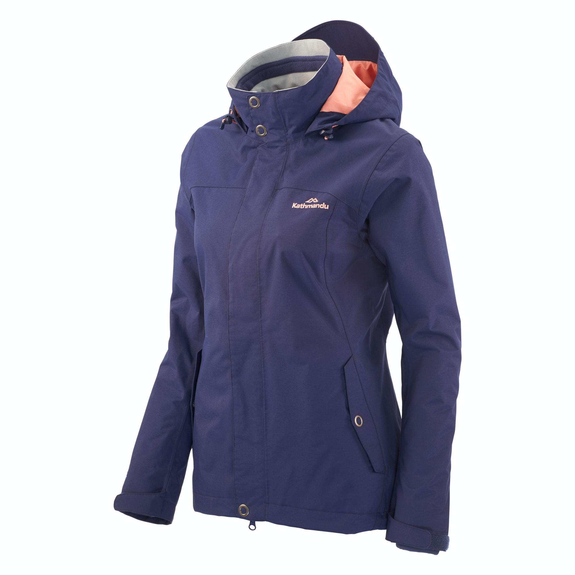 3 in 1 womens waterproof jacket