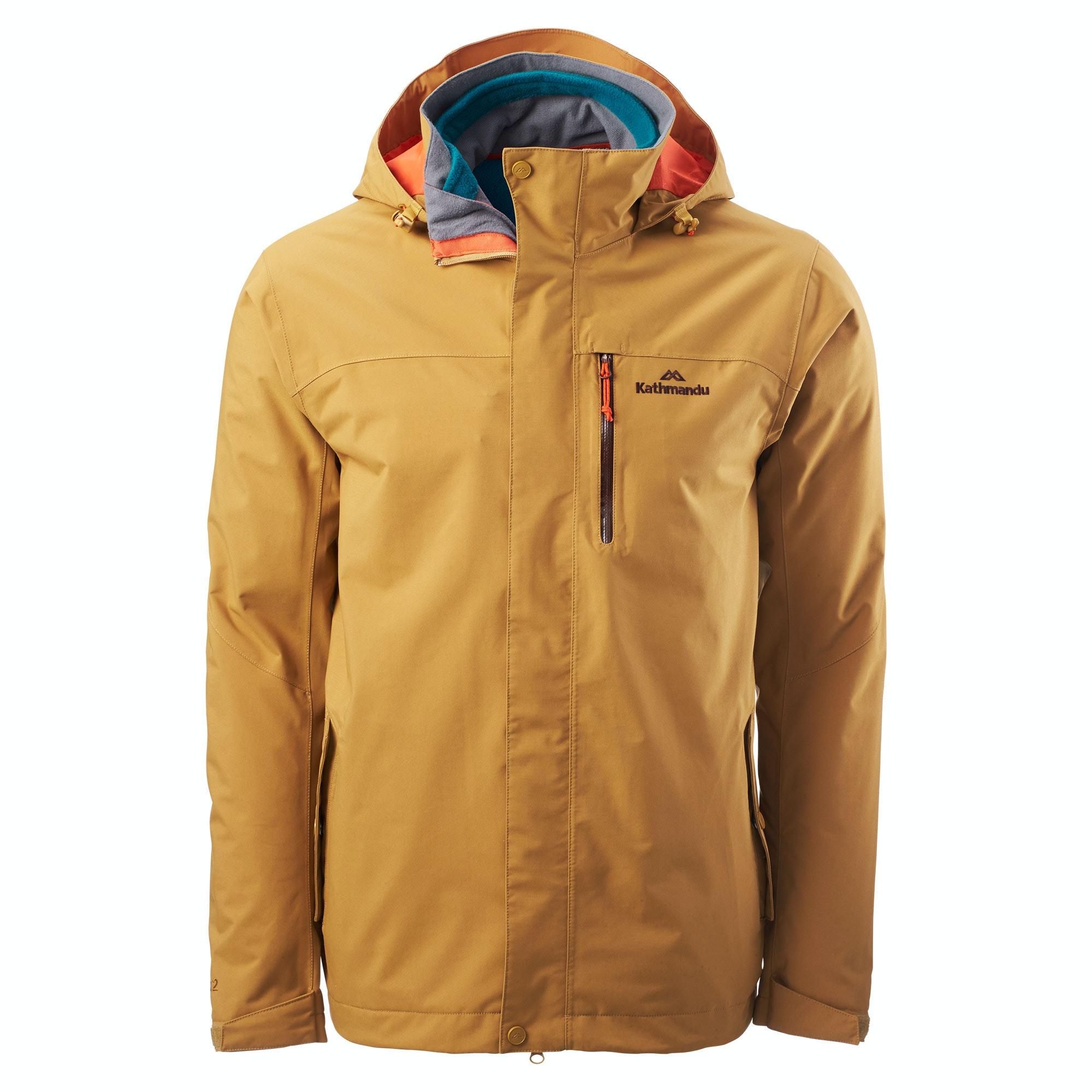 Isograd Men's Waterproof 3 in 1 Jacket v2 - Petrol