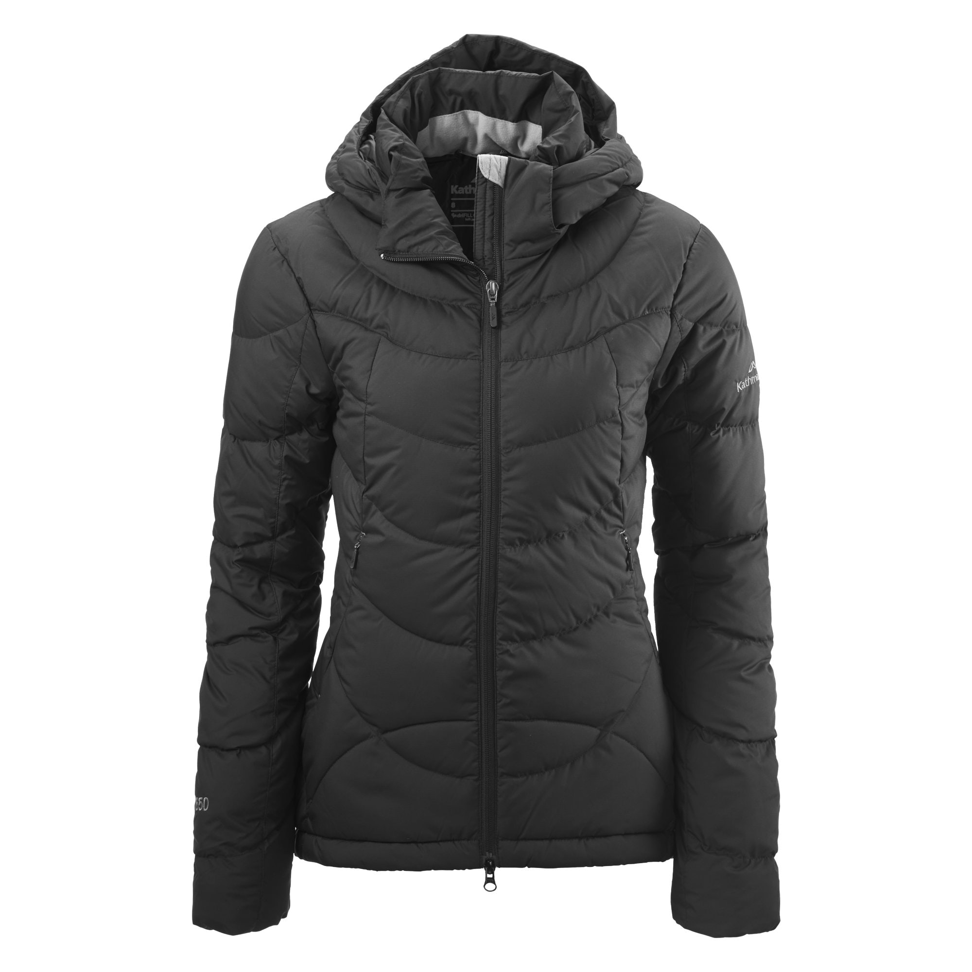 Women's Goose Down Hooded Jacket v5 - Mauve