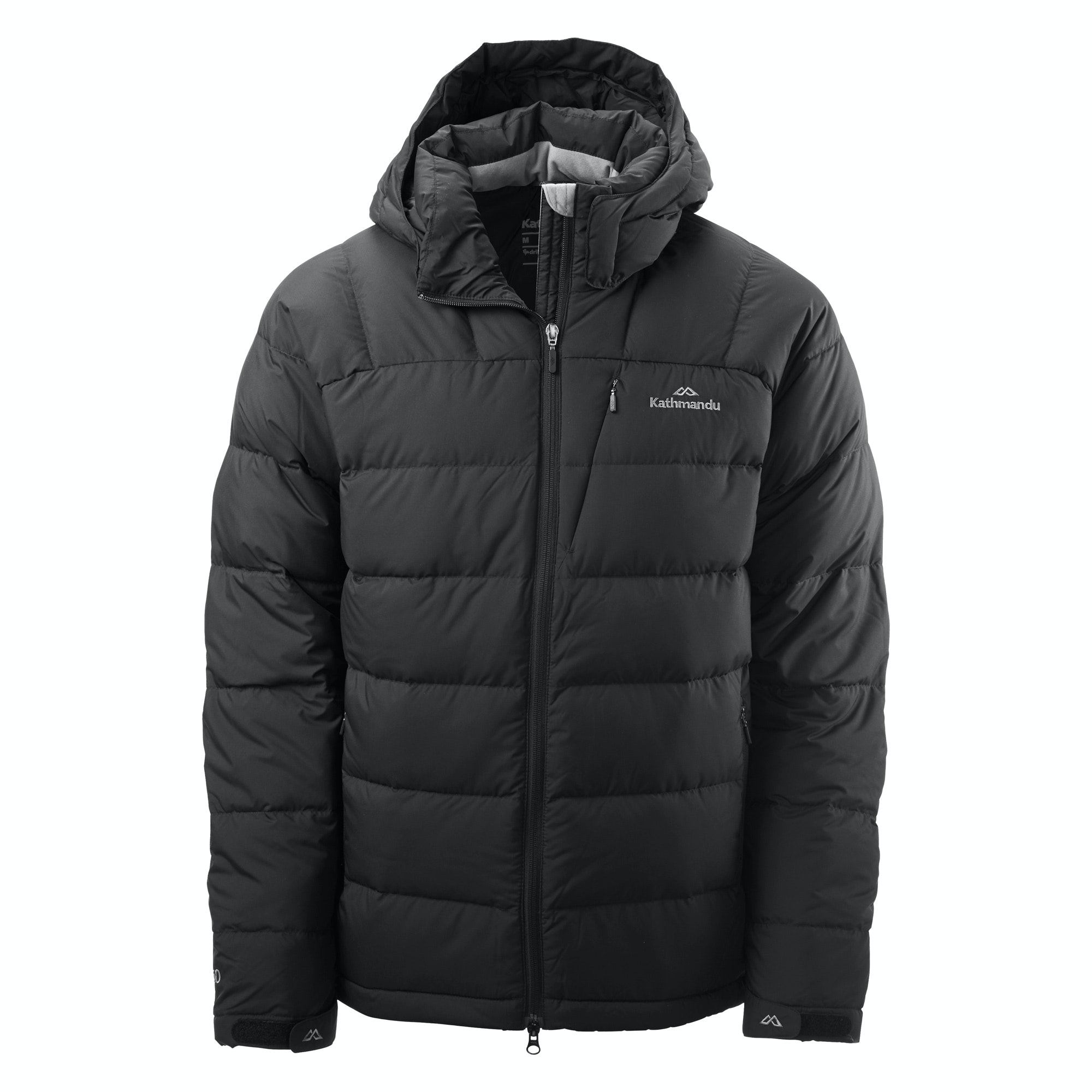 Men's Goose Down Hooded Jacket v5 - Cobalt