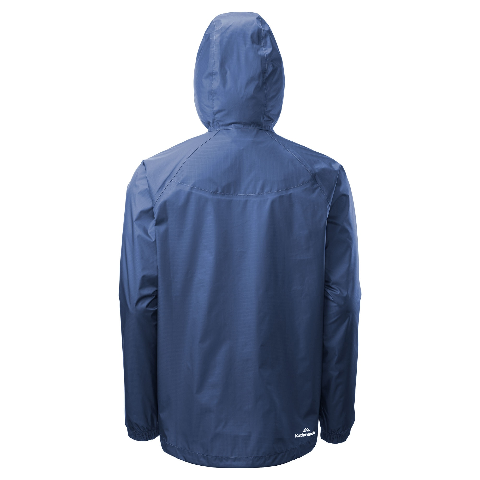 Kathmandu-Pocket-it-Men-039-s-Hooded-Water-Resistant-Packaway-Light-Rain-Jacket
