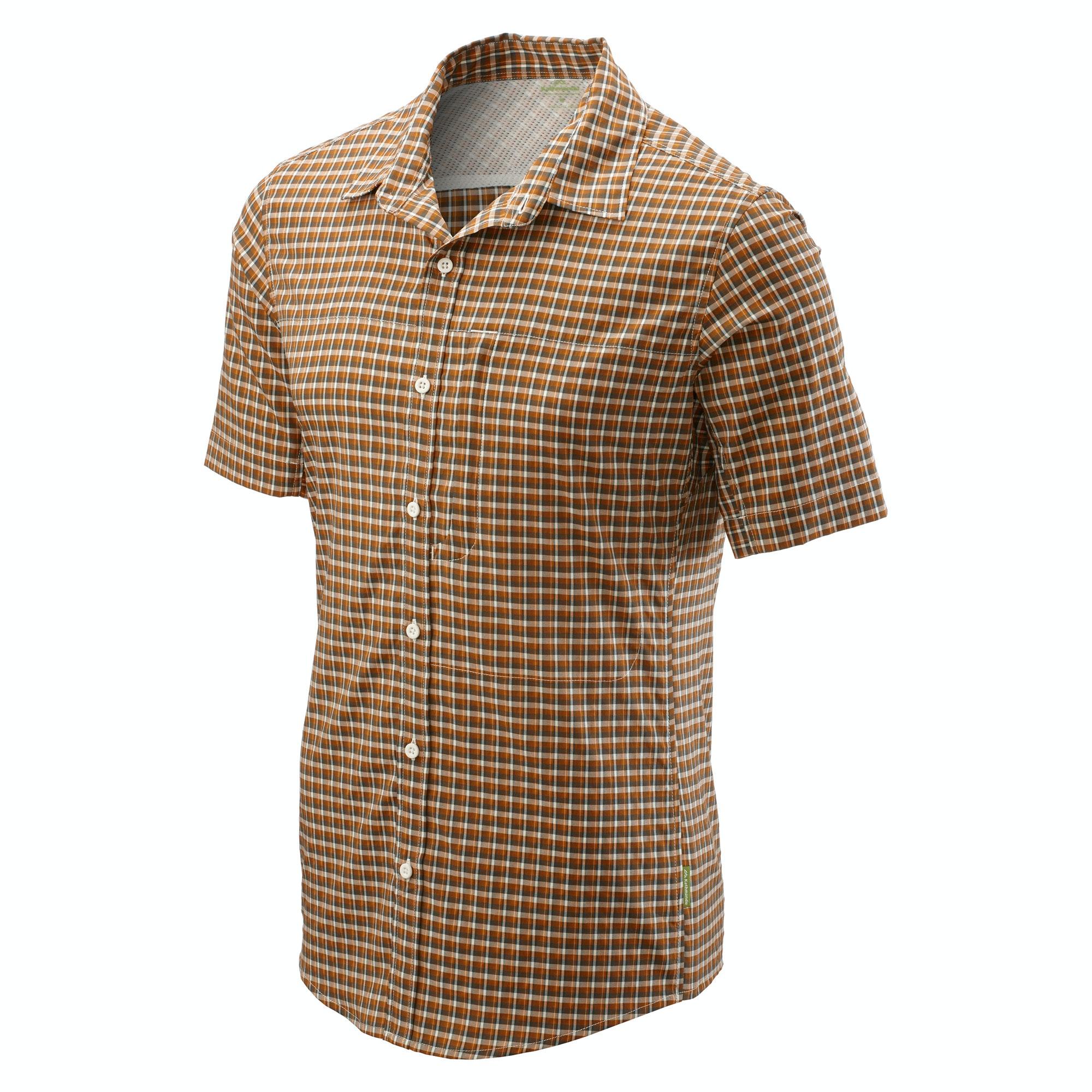 Kathmandu-Barros-Men-039-s-Lightweight-Slim-Short-Sleeve-Hiking-Travel-Shirt-v2