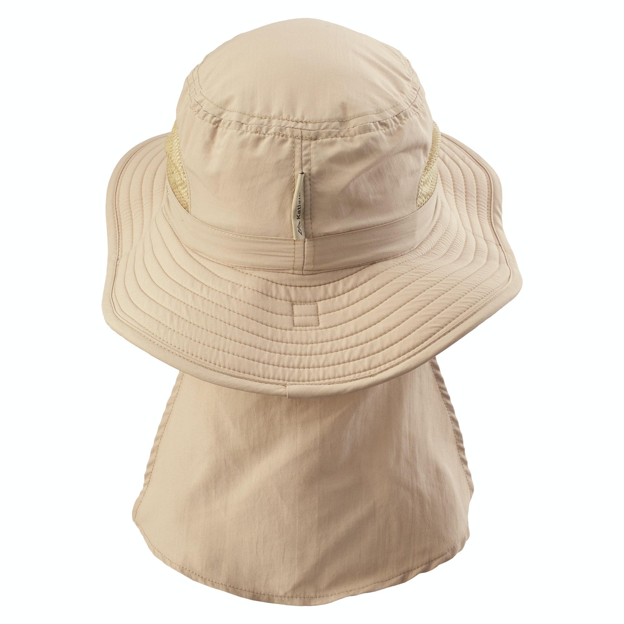 Kathmandu-buzzGUARD-Men-039-s-Women-039-s-Wide-Brim-Insect-Repellent-Neck-Flap-Sun-Hat