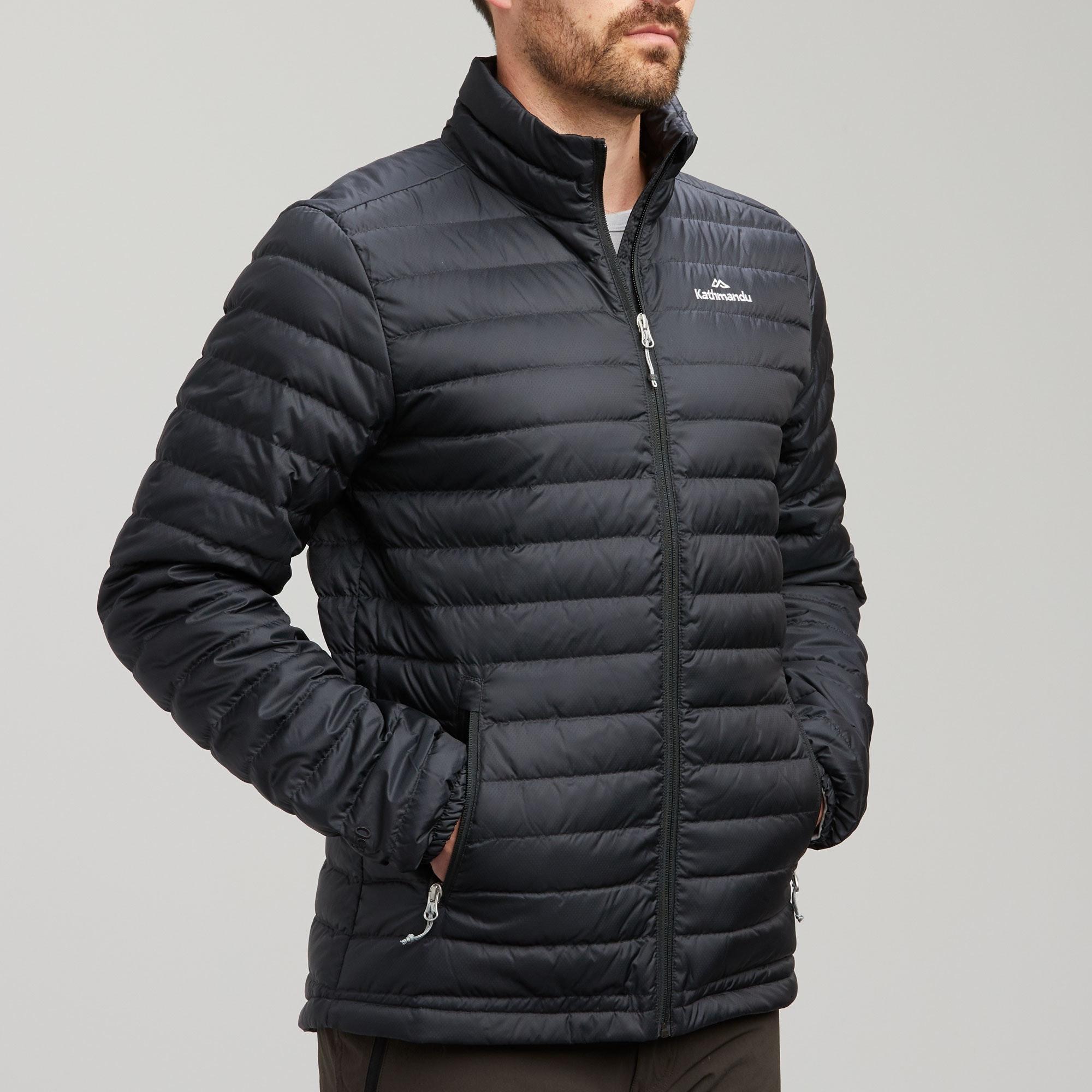 Heli Men's Light Weight Down Jacket v2 - Black