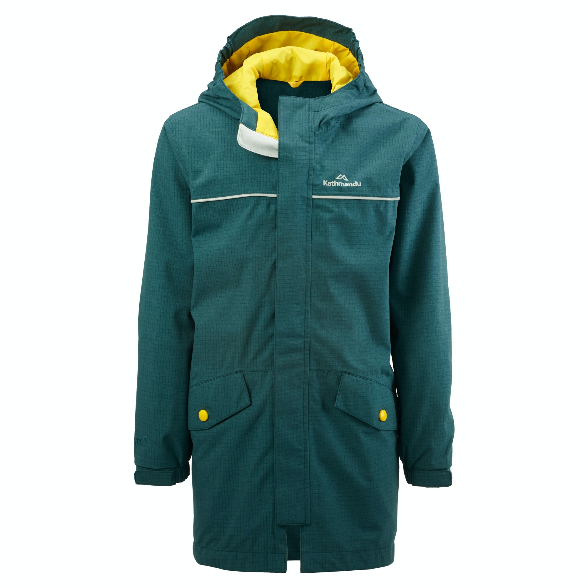 Cloudburst Youth Waterproof Jacket v3 - Pastel Blue