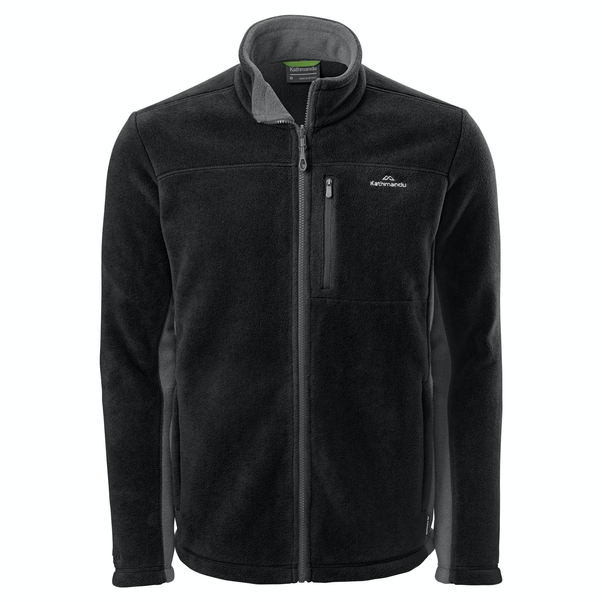 Kathmandu Trailhead 200 Mens Full Zip Warm High Neck Outdoor ...