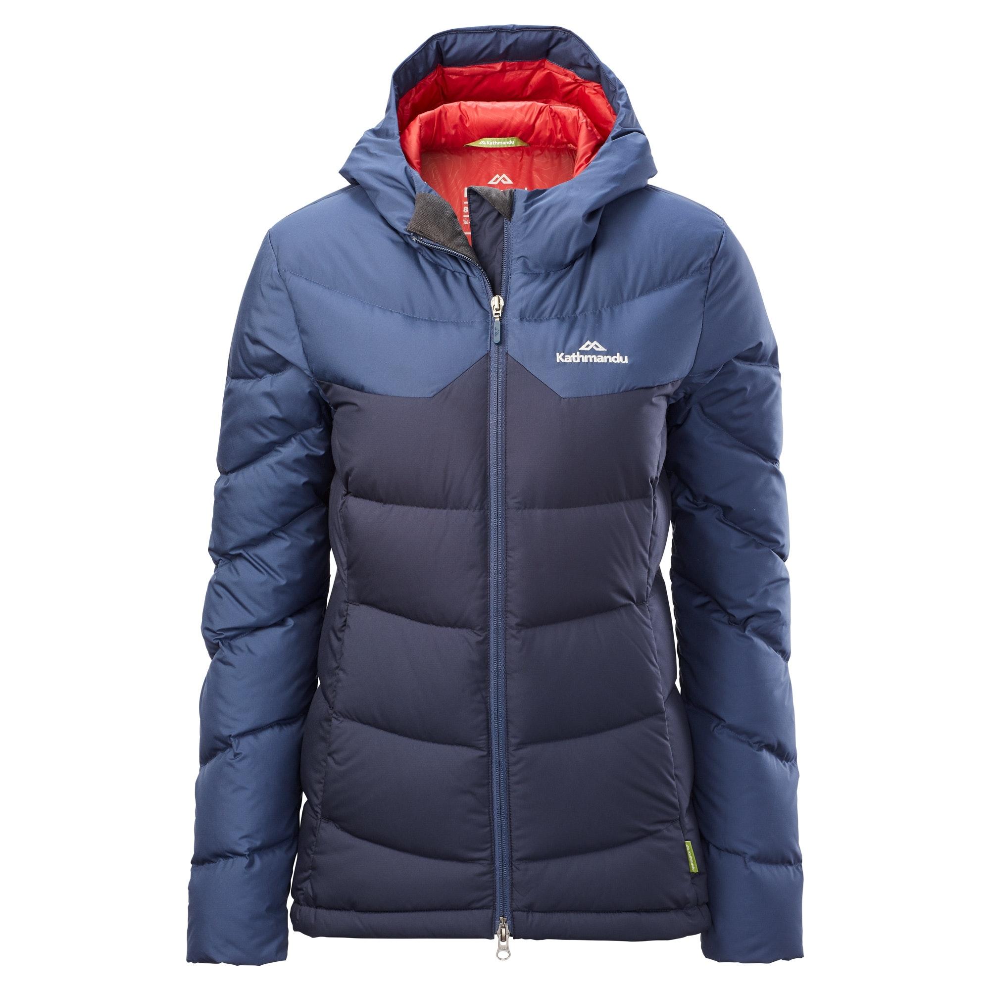 Kathmandu-Epiq-Women-039-s-Hooded-Warm-Winter-Duck-Down-Puffer-Jacket