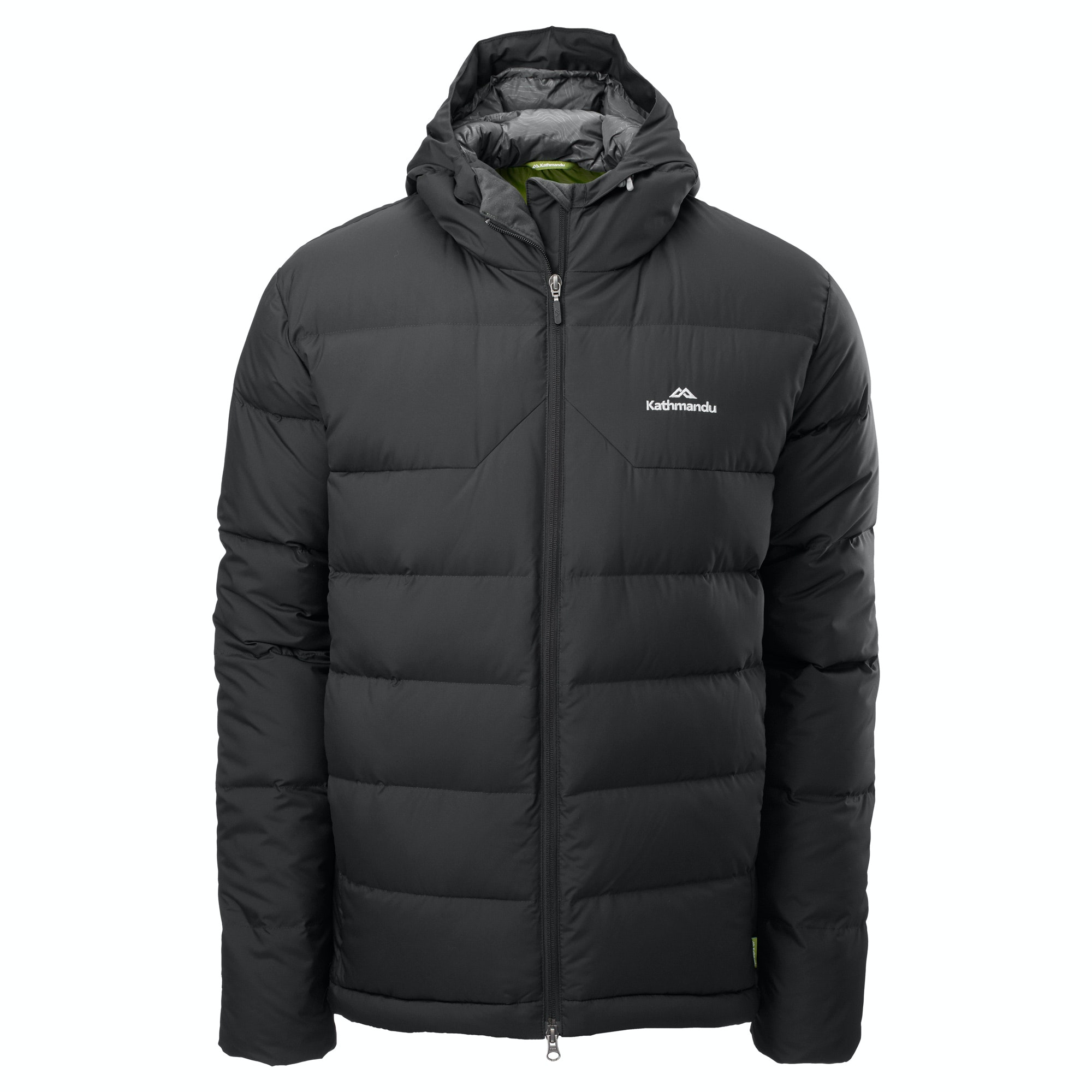 Kathmandu Epiq Mens Hooded Warm Winter Duck Down Puffer ...