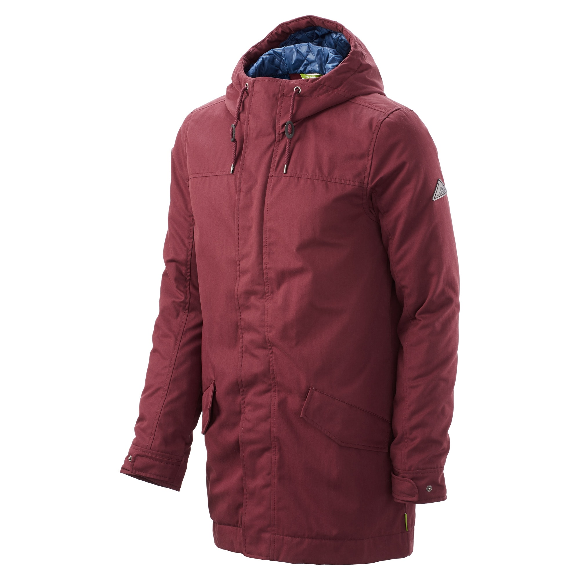 Kathmandu-Creede-Men-039-s-insuLITE-Longline-Urban-Parka-Hooded-Outdoor-Coat-v2