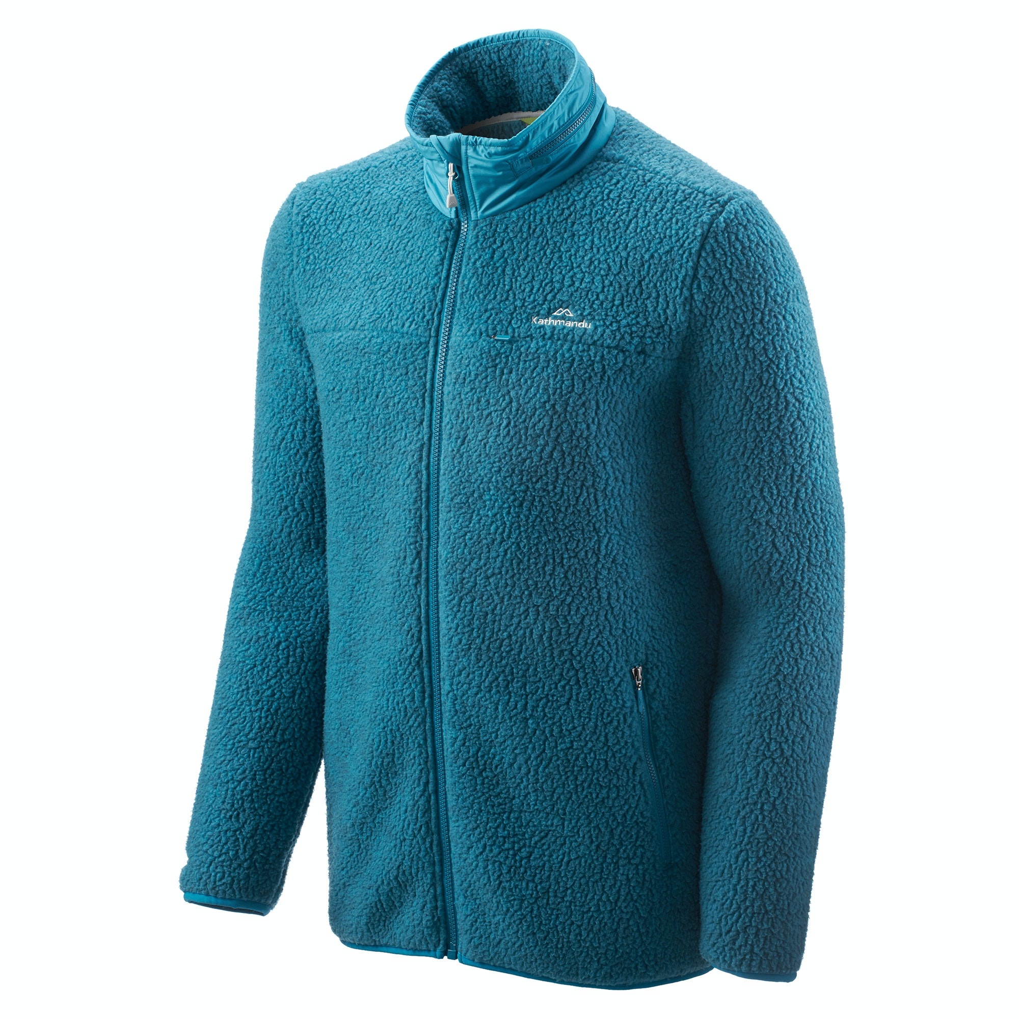 NEW-Kathmandu-Baffin-Island-Men-039-s-Full-Zip-Hooded-Warm-Outdoor-Fleece-Jacket thumbnail 10