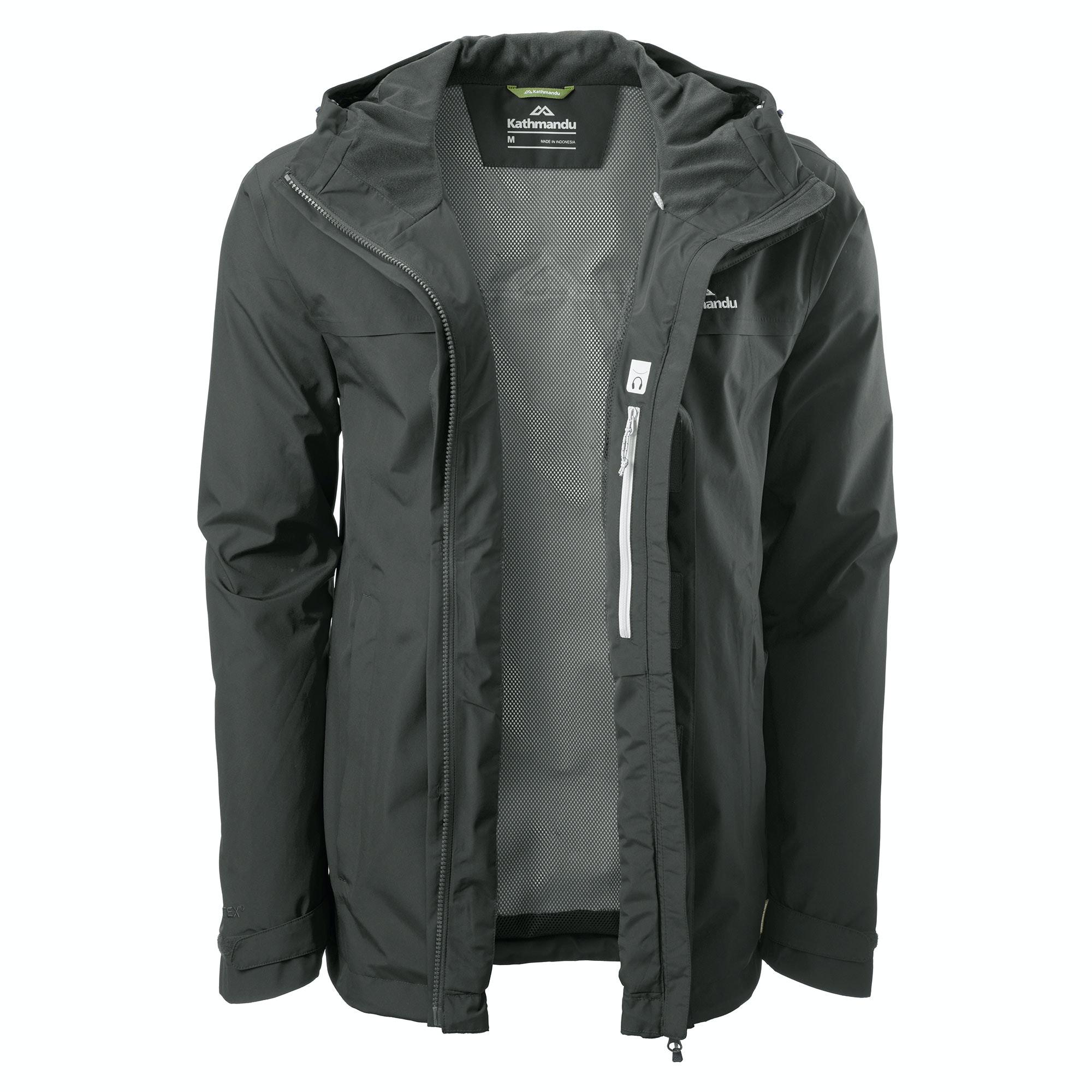 NEW-Kathmandu-Bealey-Men-039-s-GORE-TEX-Windproof-Waterproof-Outdoor-Rain-Jacket