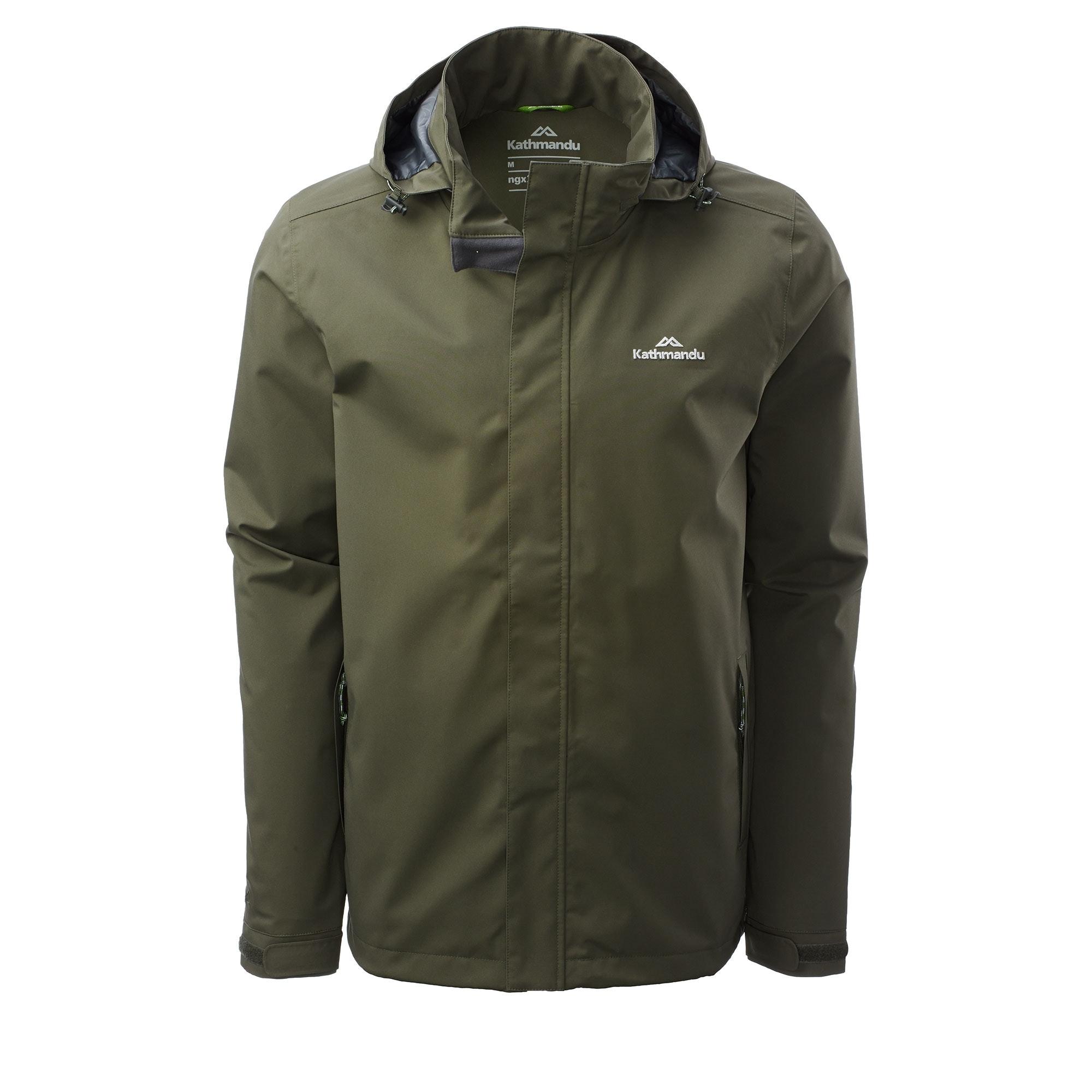 Kathmandu-Andulo-Men-039-s-2-Layer-Waterproof-Jacket