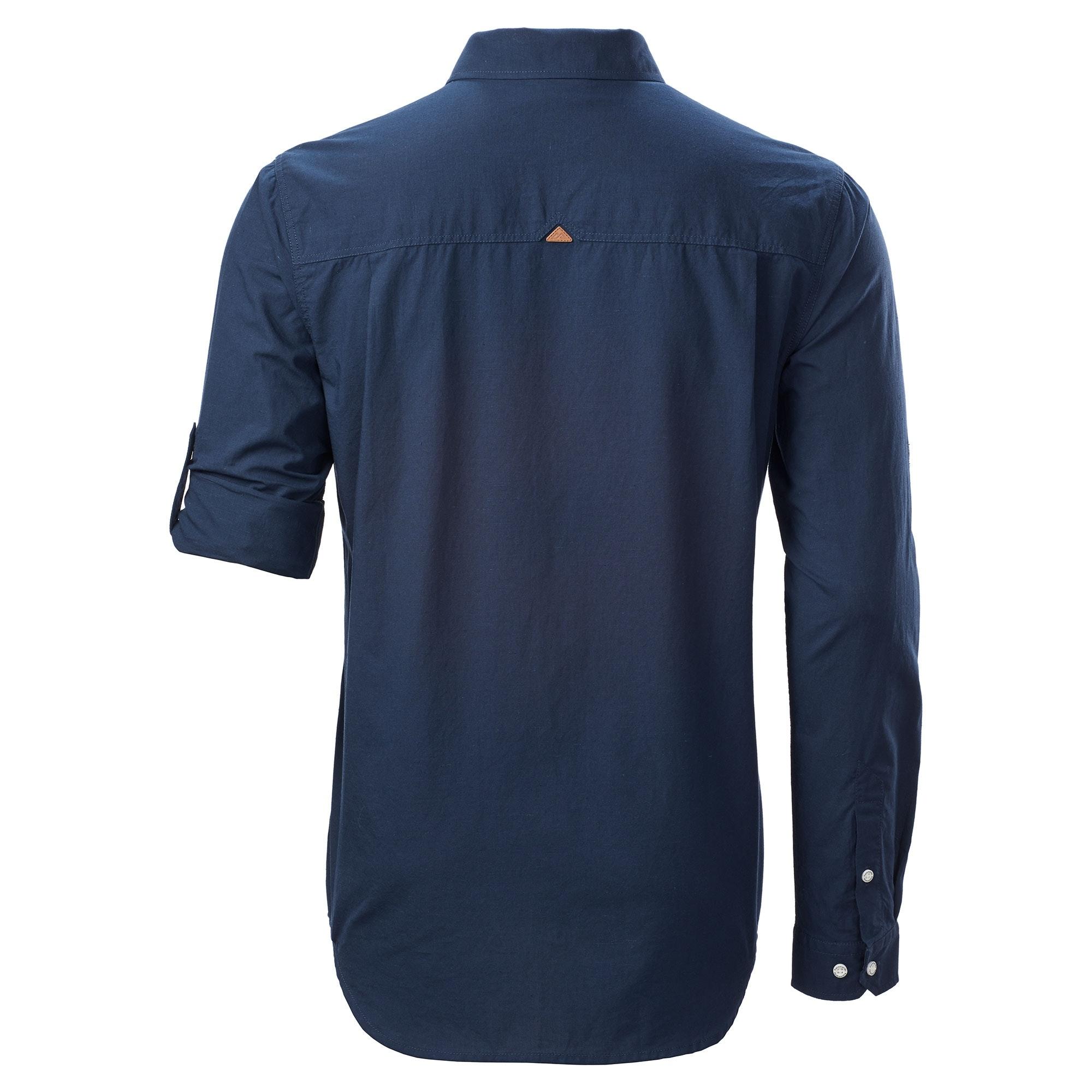NEW-Kathmandu-Federate-Mens-Long-Sleeve-Button-Top-Casual-Urban-Travel-Shirt