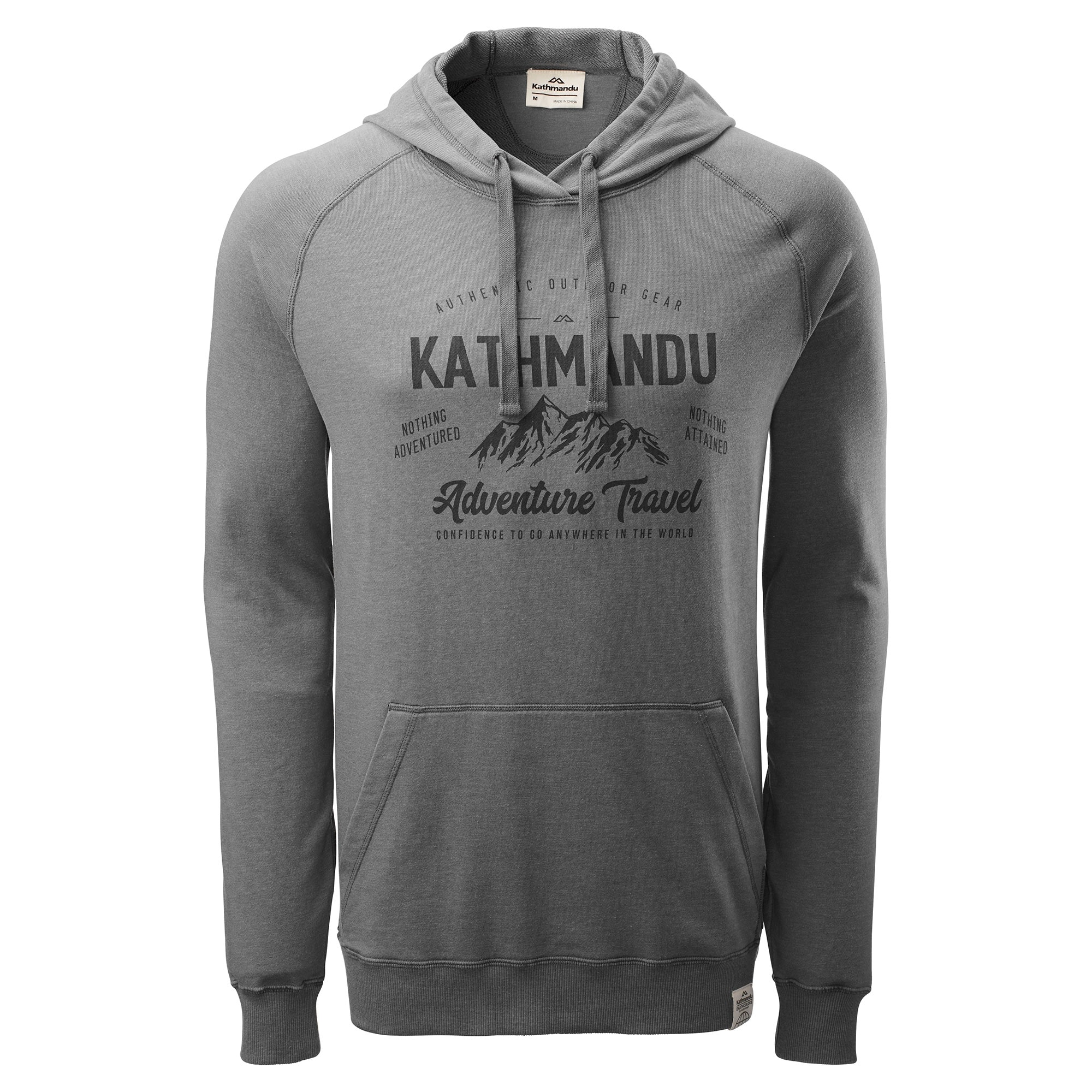 NEW-Kathmandu-Men-039-s-Earth-Hooded-Pullover-Jumper-Hoodie-Top