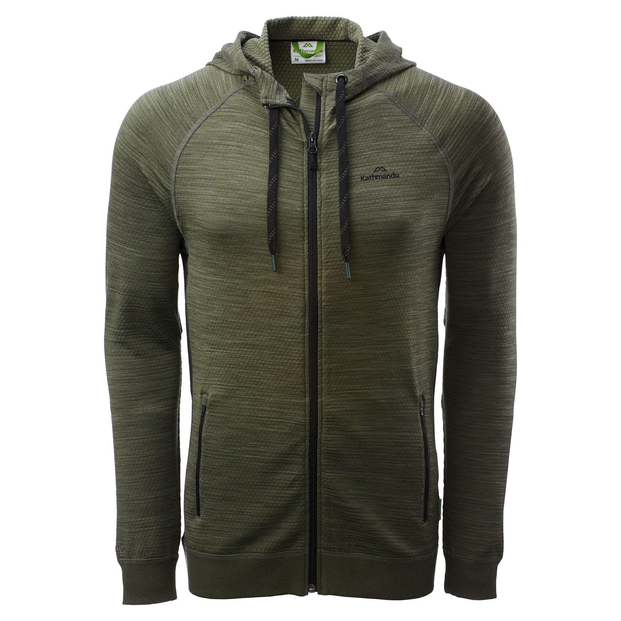Kathmandu-Acota-Men-039-s-Hooded-Fleece-Jacket