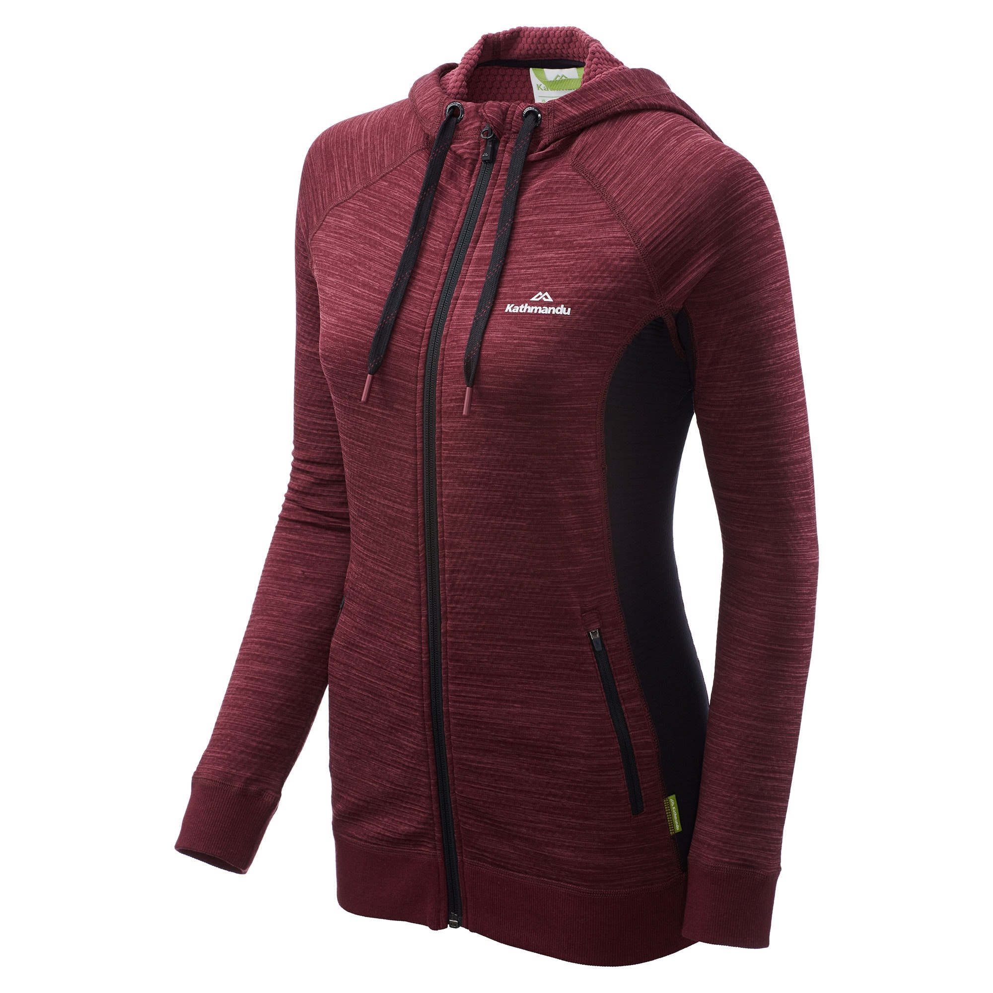 NEW-Kathmandu-Acota-Women-s-Hooded-Fleece-Lightweight-Breathable-Outdoor-Jacket thumbnail 18