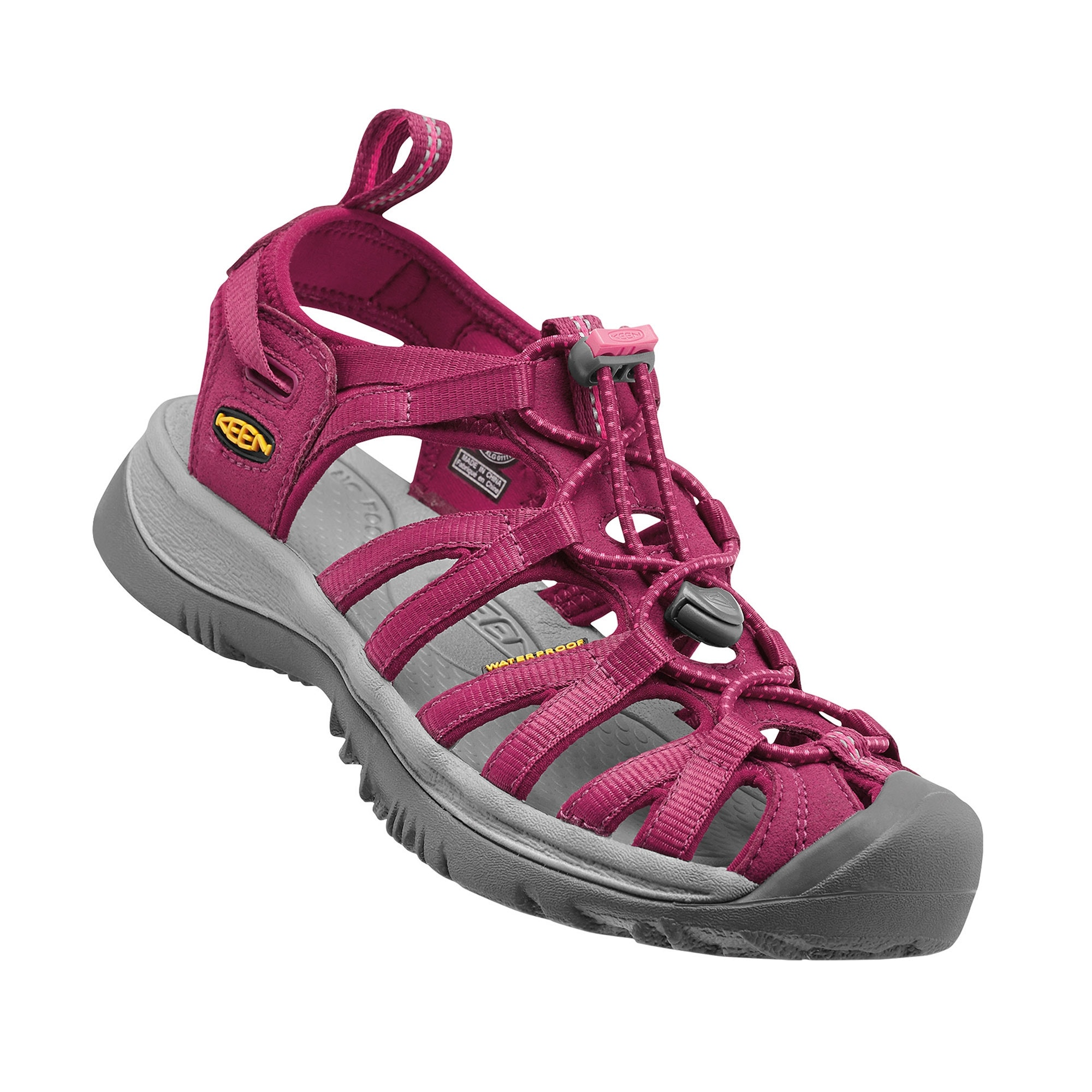 3cf1420234a072 Keen Whisper Womens - Brindle Regal Orchid