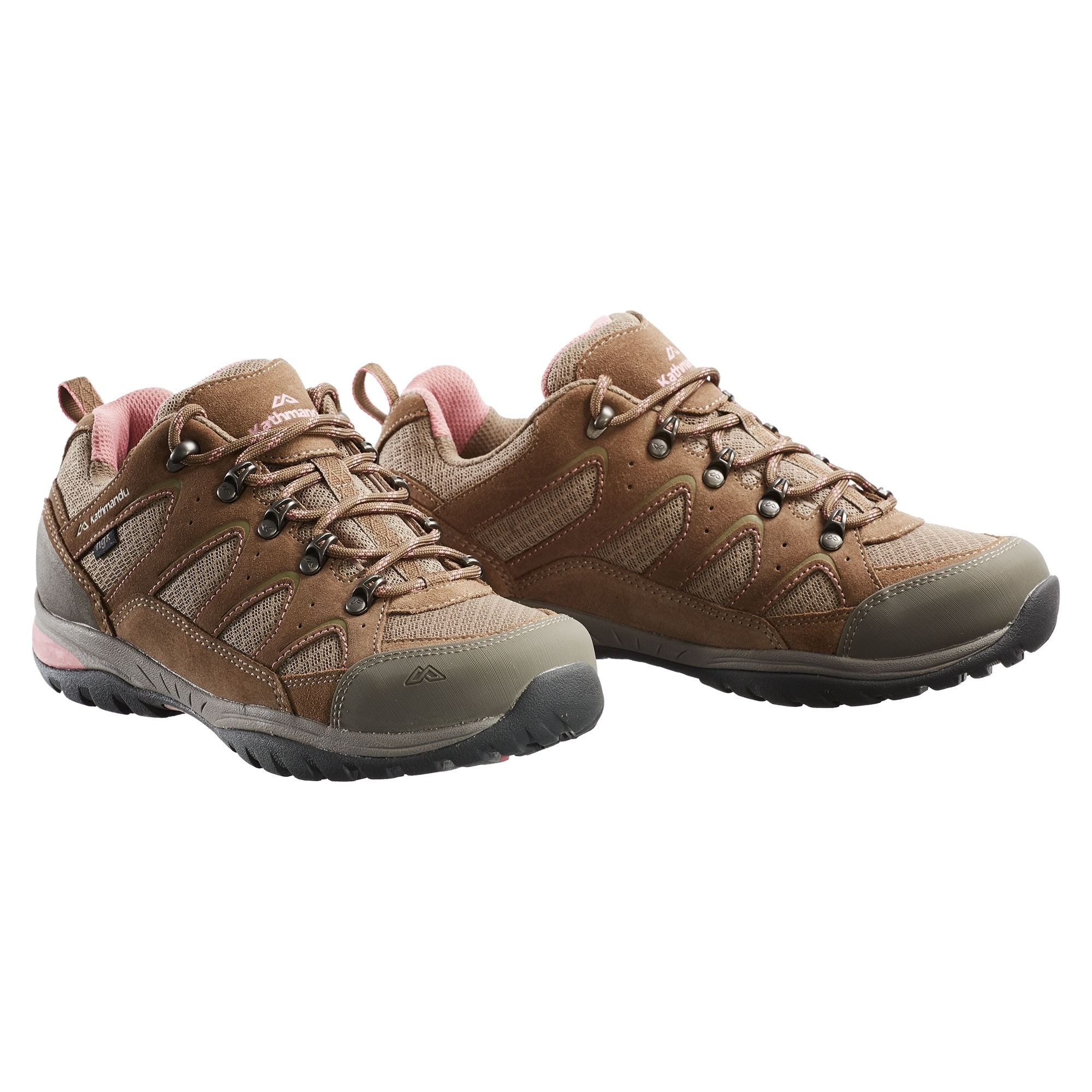 Lightweight Brown Leather Travel Shoes