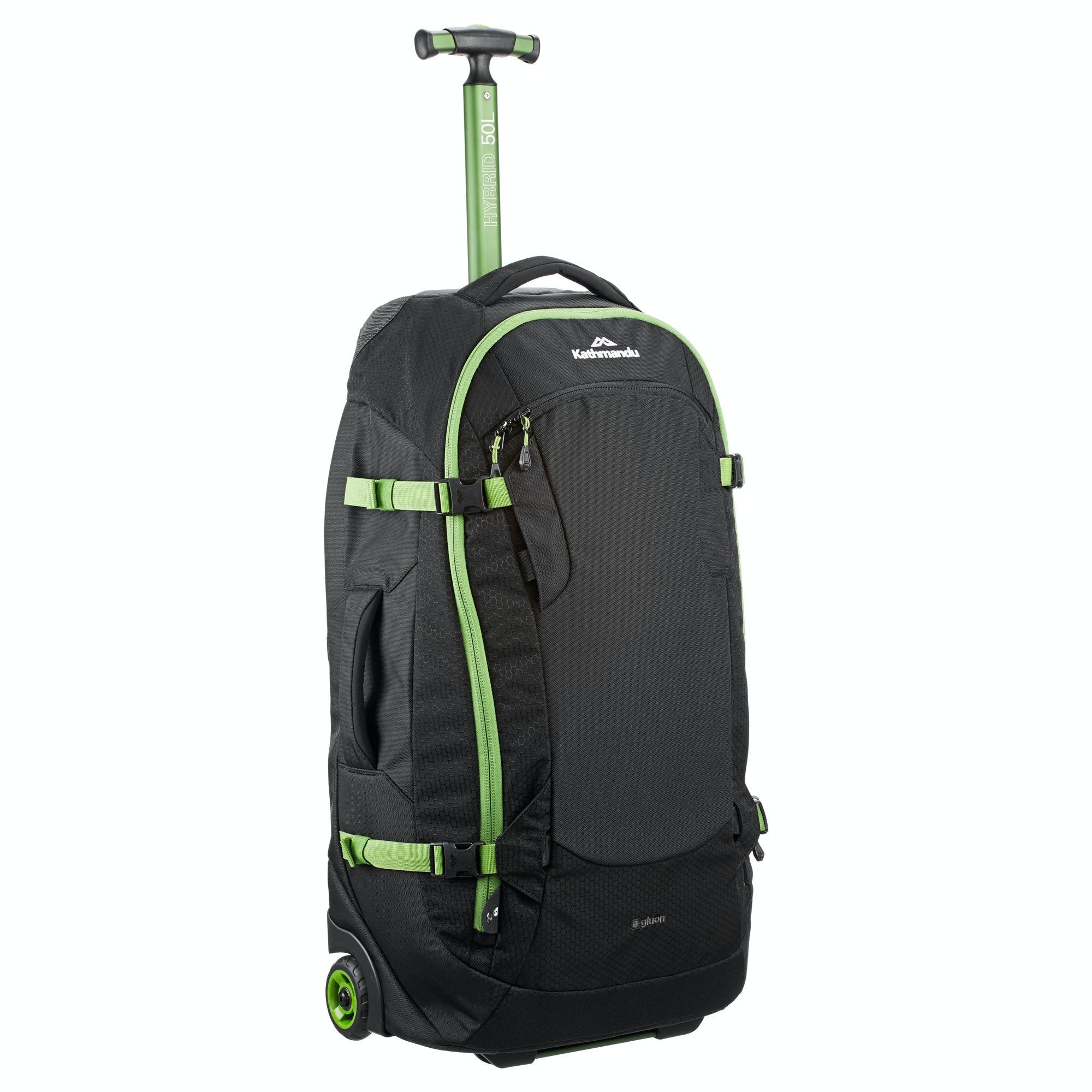 9b5a2b67d Kathmandu Hybrid 50L Backpack Harness Wheeled Travel Luggage Trolley Bag v3  NEW