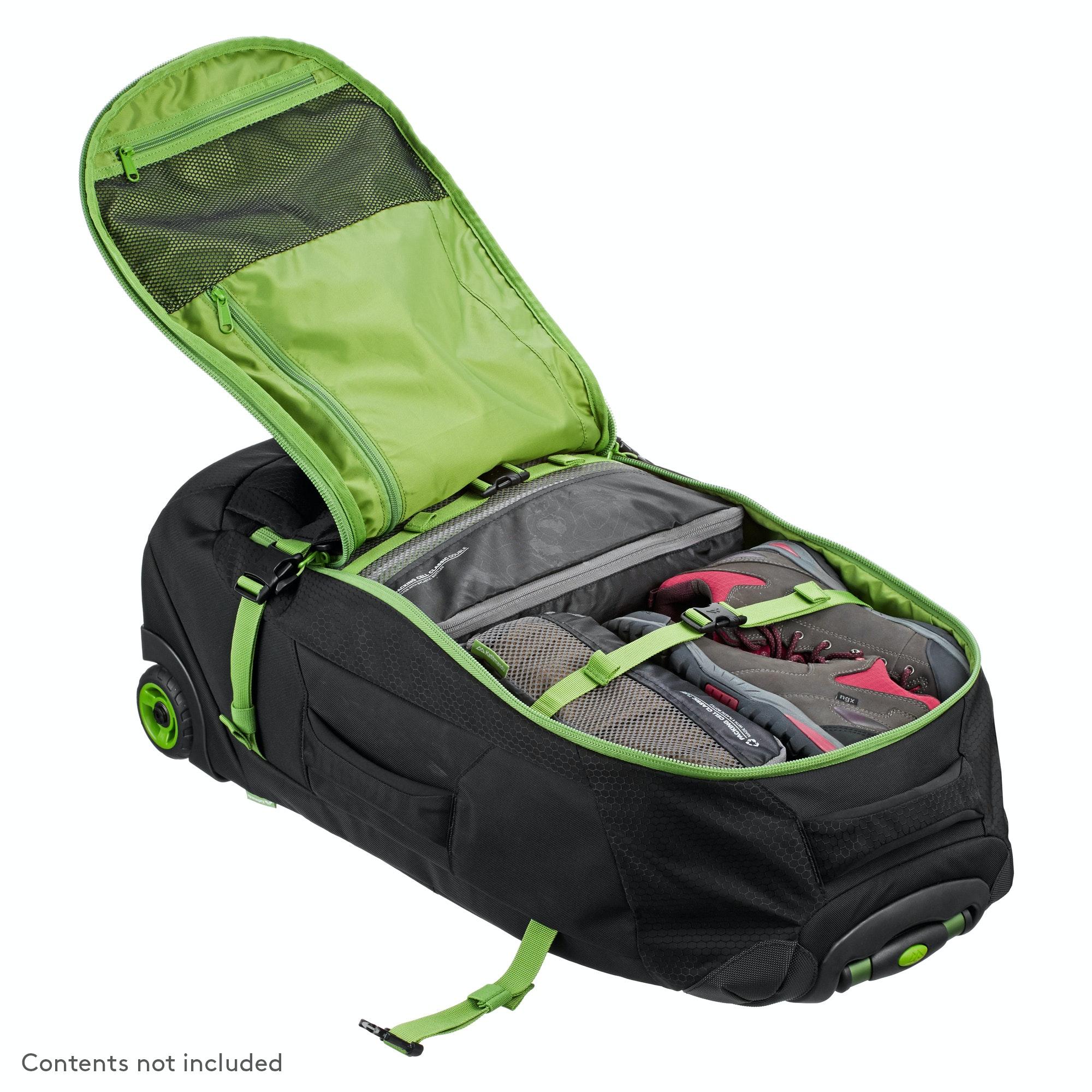 d5a7b1c0a Kathmandu Hybrid 50L Backpack Harness Wheeled Travel Luggage Trolley ...