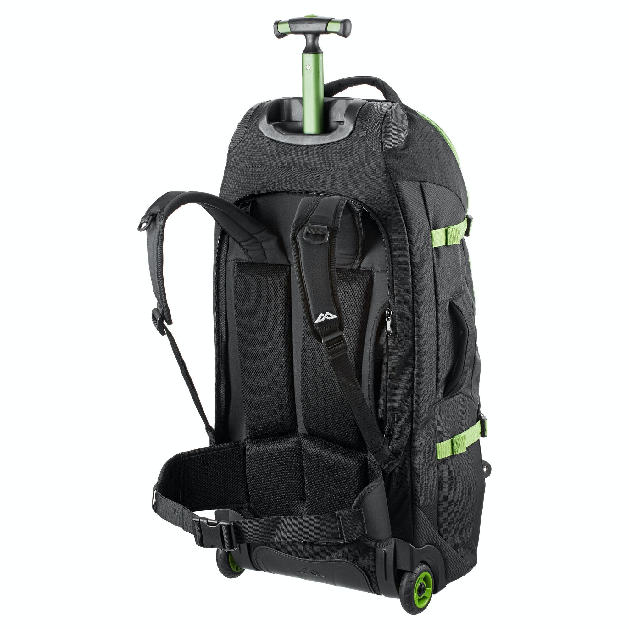 kathmandu hybrid 70l backpack harness wheeled travel luggage trolley bag v3 new ebay. Black Bedroom Furniture Sets. Home Design Ideas