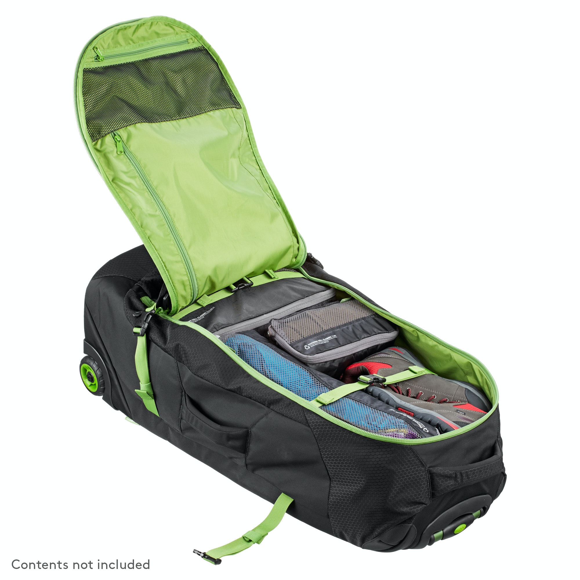 hybrid 70l backpack harness wheeled luggage trolley v3 review