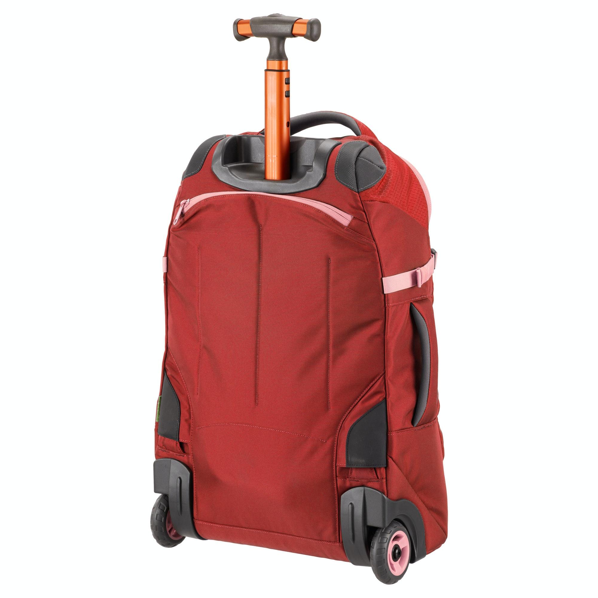 kathmandu hybrid 30l carry on luggage trolley backpack harness lightweight new ebay. Black Bedroom Furniture Sets. Home Design Ideas