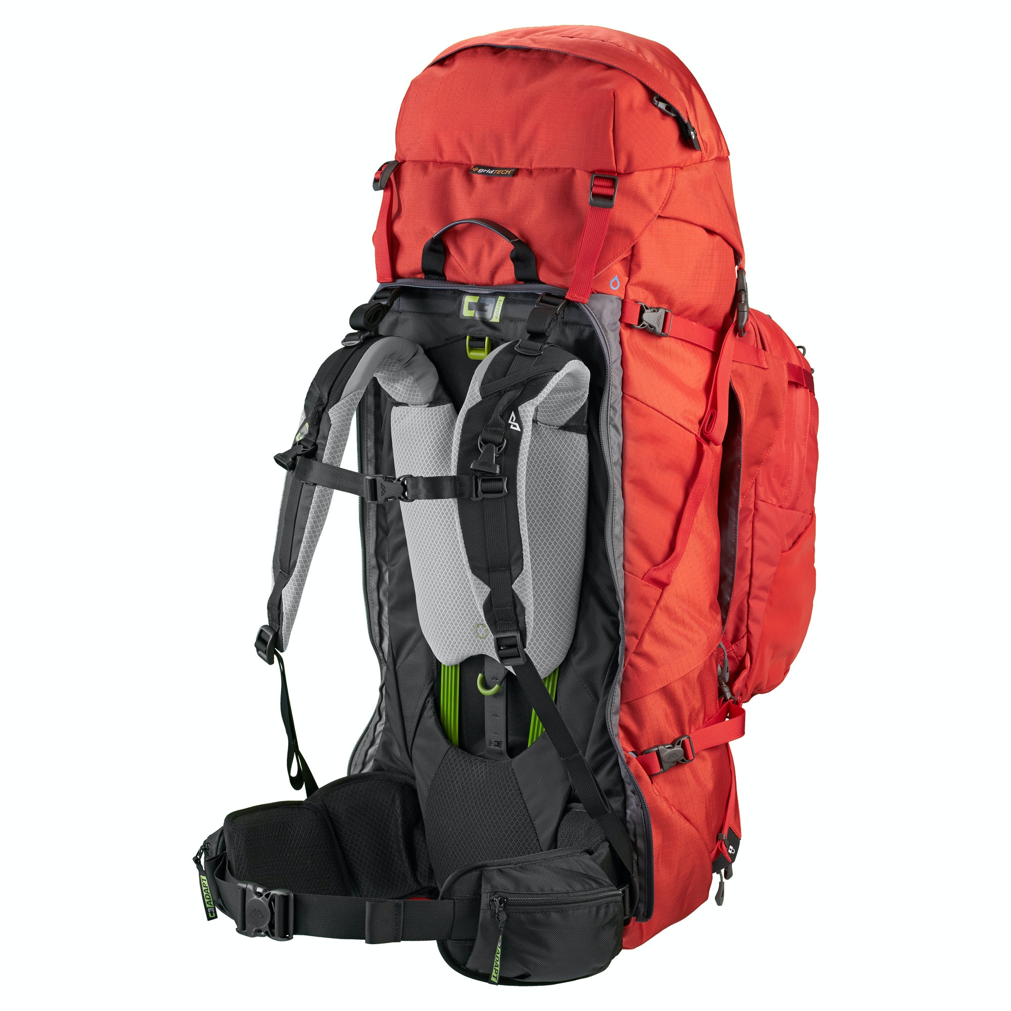 Interloper gridTECH 70L Backpack v2 - Sunset