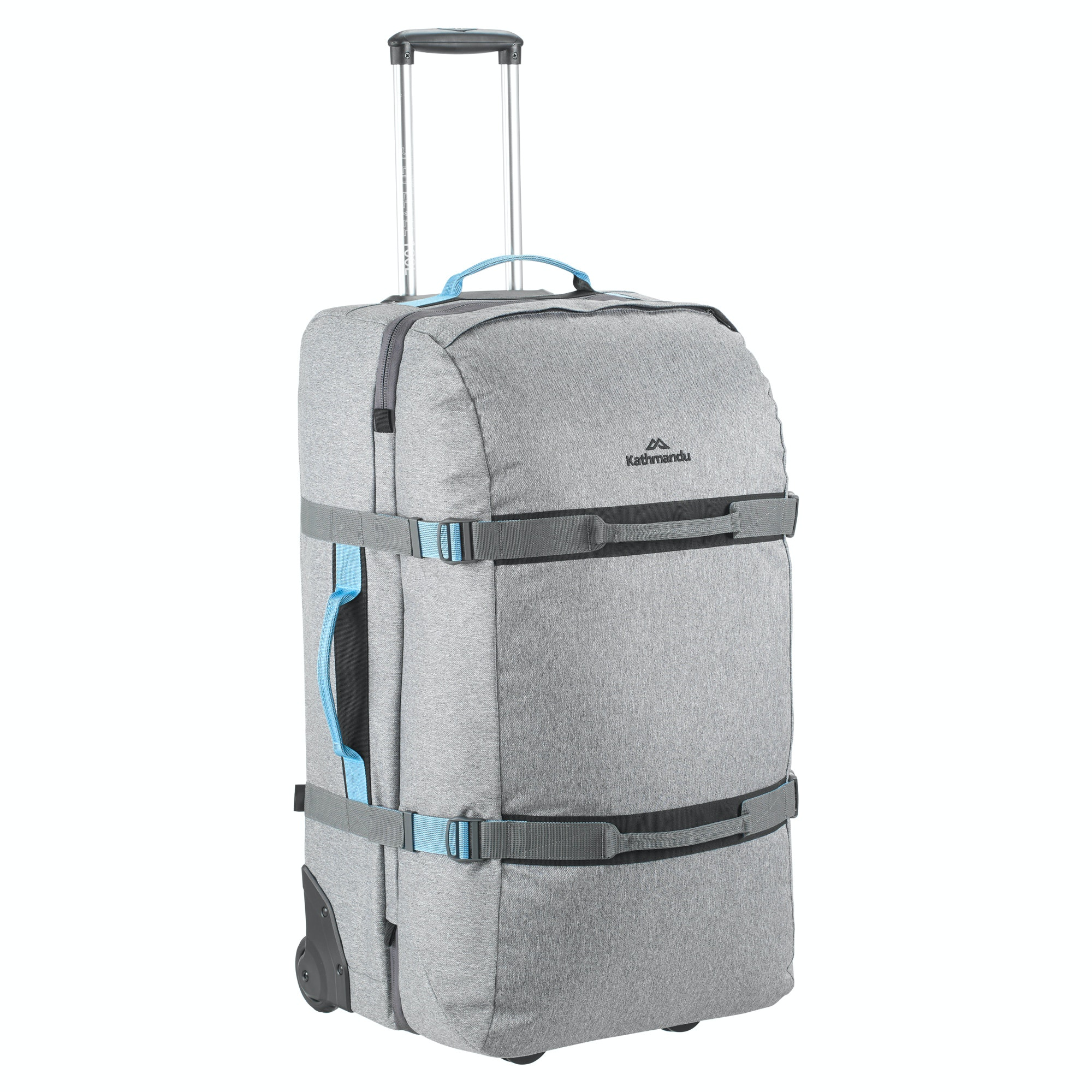 Split Level 100L Wheeled Luggage Trolley v2 - Black