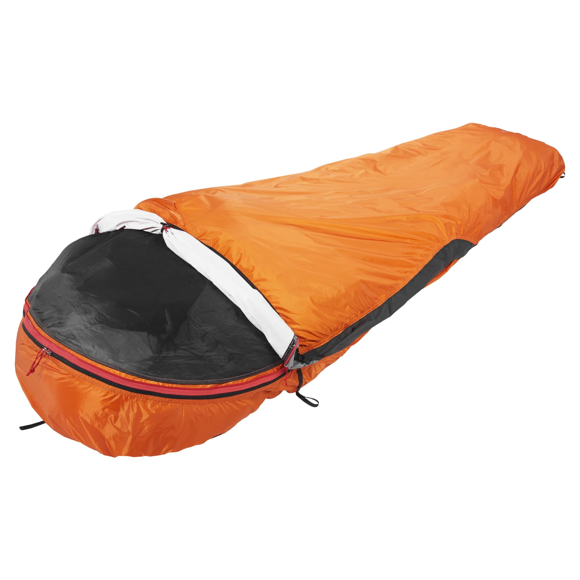 bivy xt 1 person bag orange