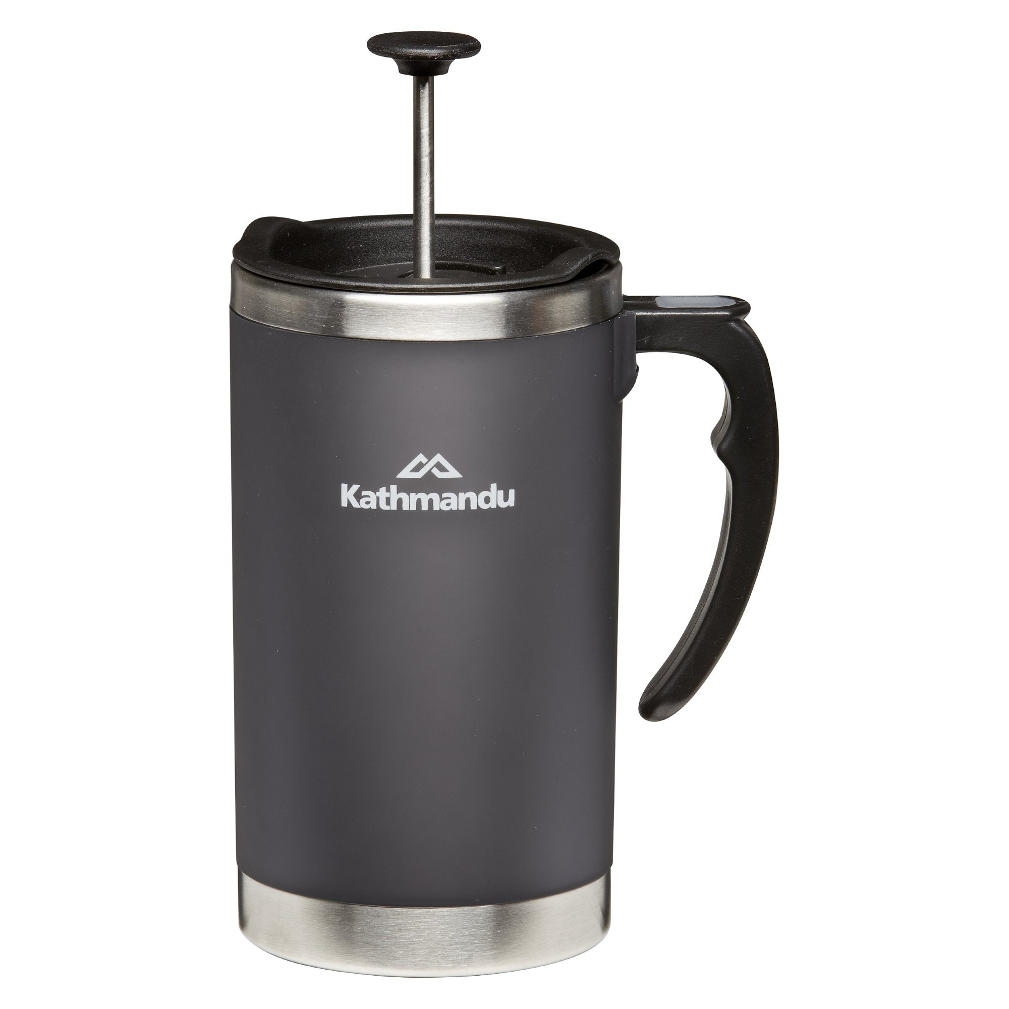 Coffee Plunger Mug Charcoal