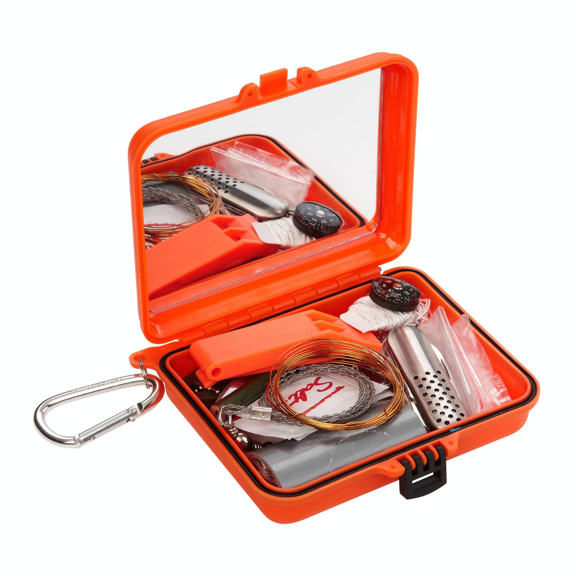 Survival kit case v2 orange for 2 case kit di storia