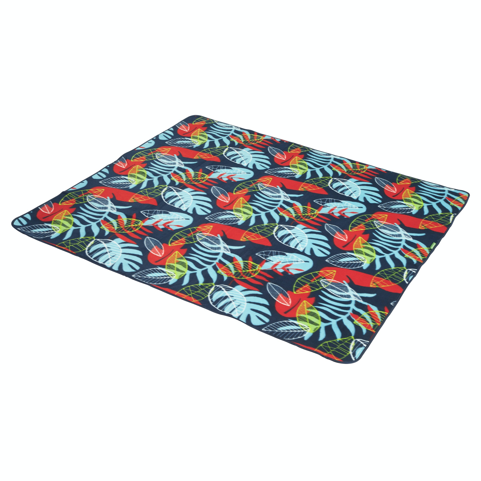 Kathmandu roll up compact fleece top travel rug camping for Best store to buy rugs