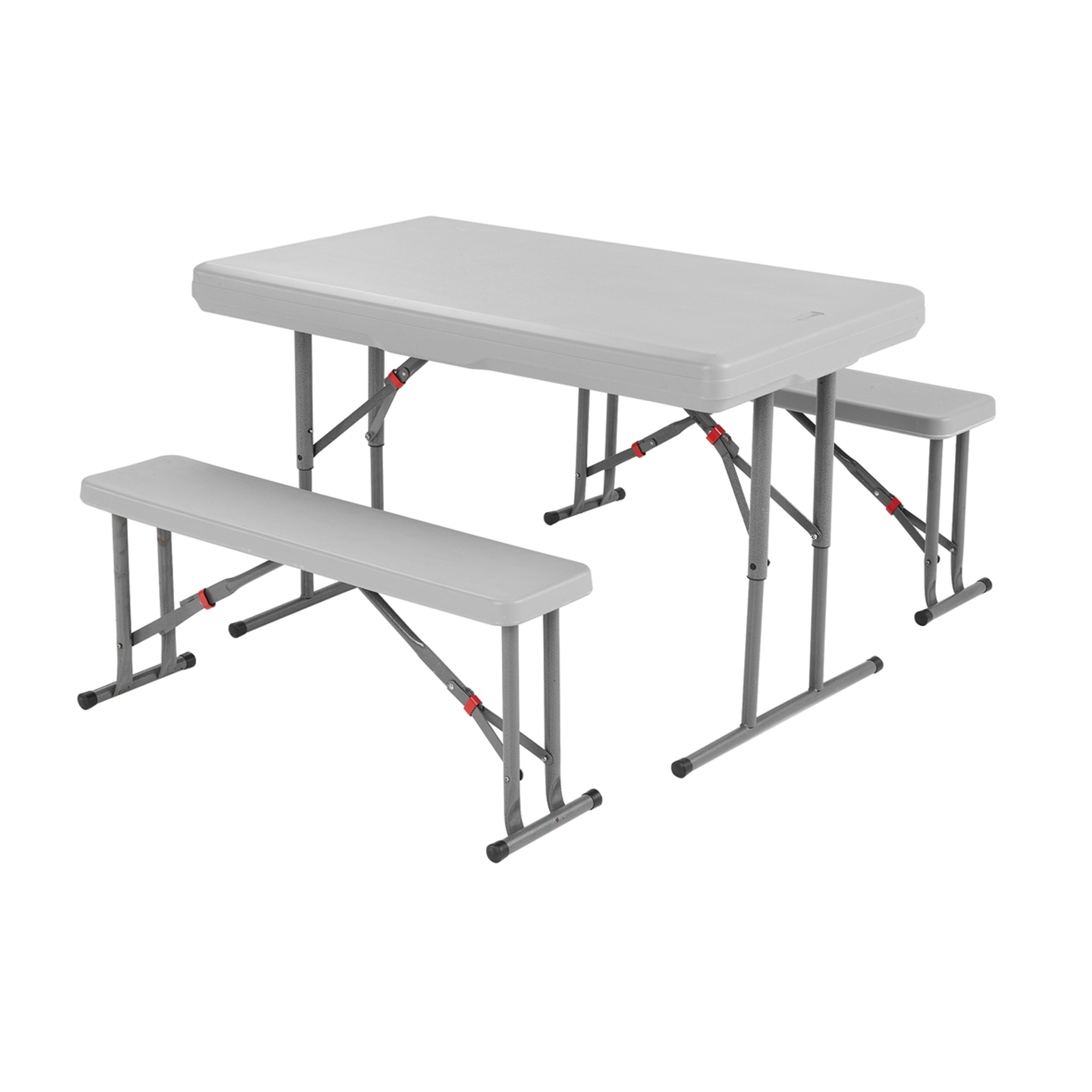 Cabana Table & Benches - Grey